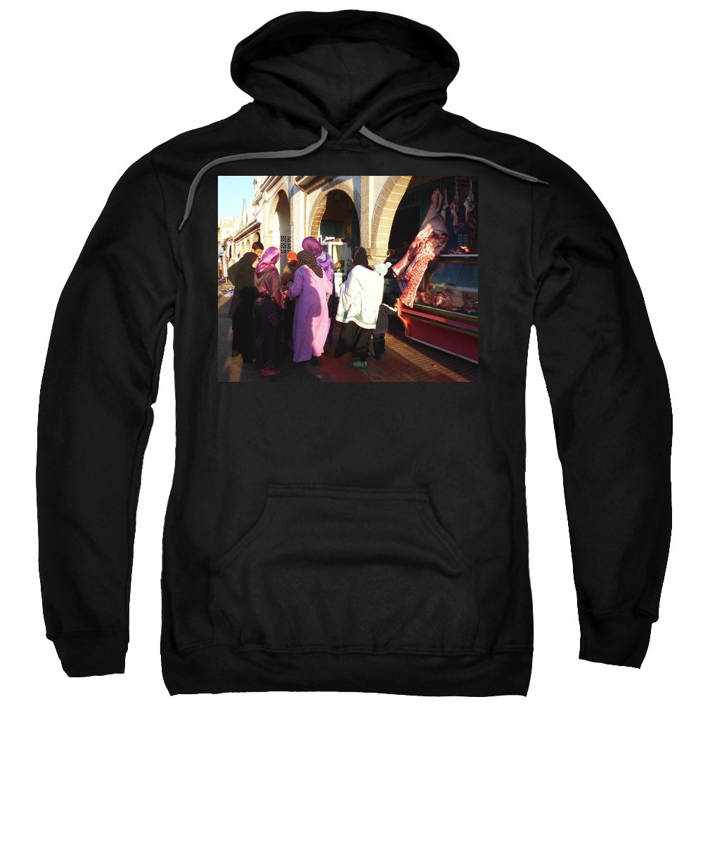 Travel Sweatshirt featuring the photograph The Temptation Of The Flesh by Miki De Goodaboom