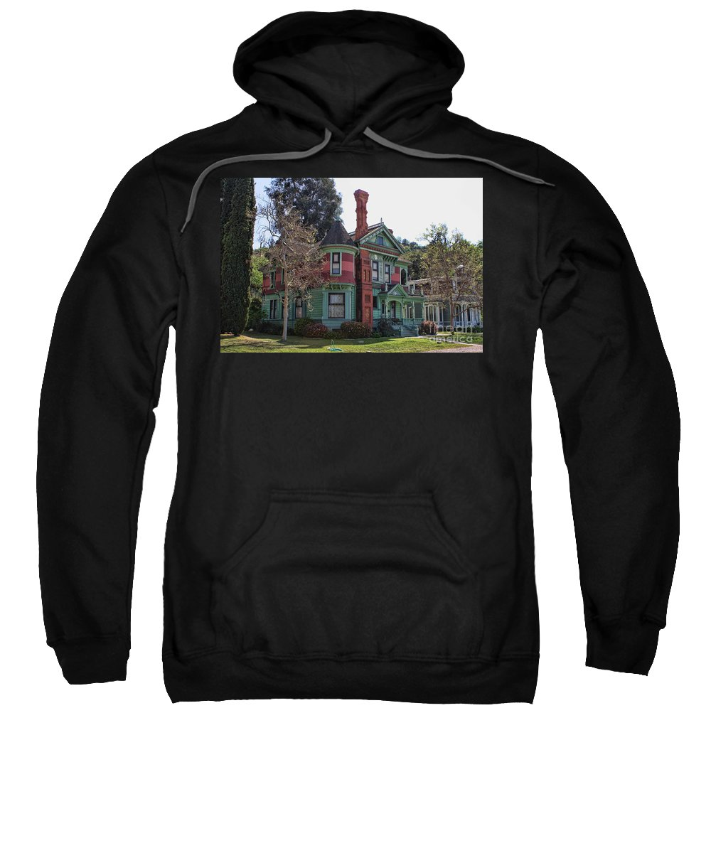 House Sweatshirt featuring the photograph The Victorians by Tommy Anderson