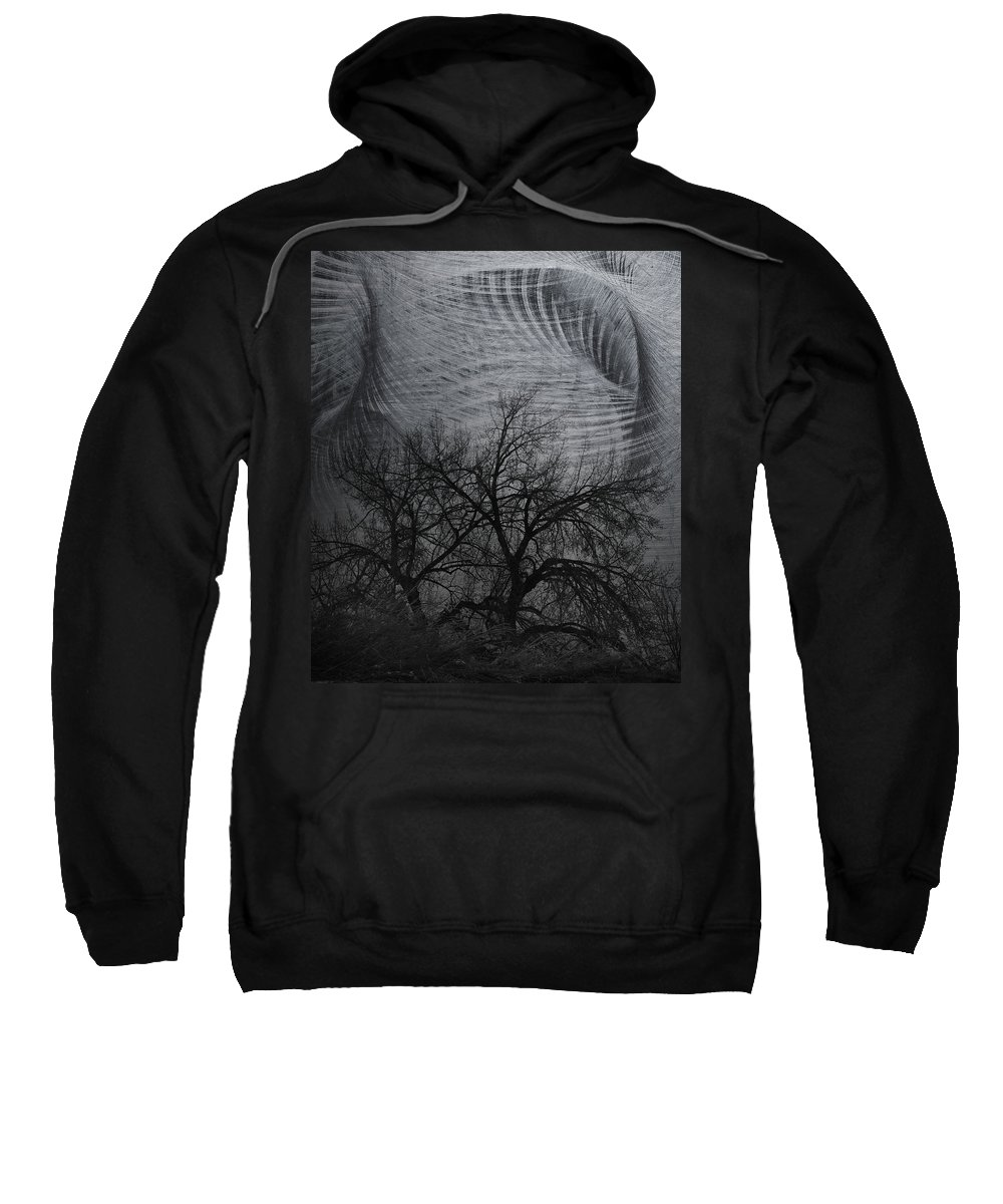 Window Framed Prints Sweatshirt featuring the photograph The Wind And Its Cuts by The Artist Project