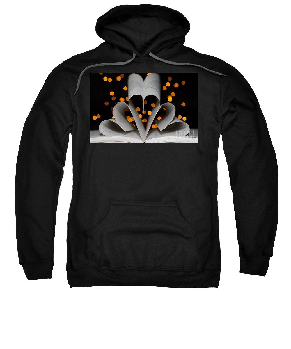 Heart Sweatshirt featuring the photograph Three Hearts by Mats Silvan