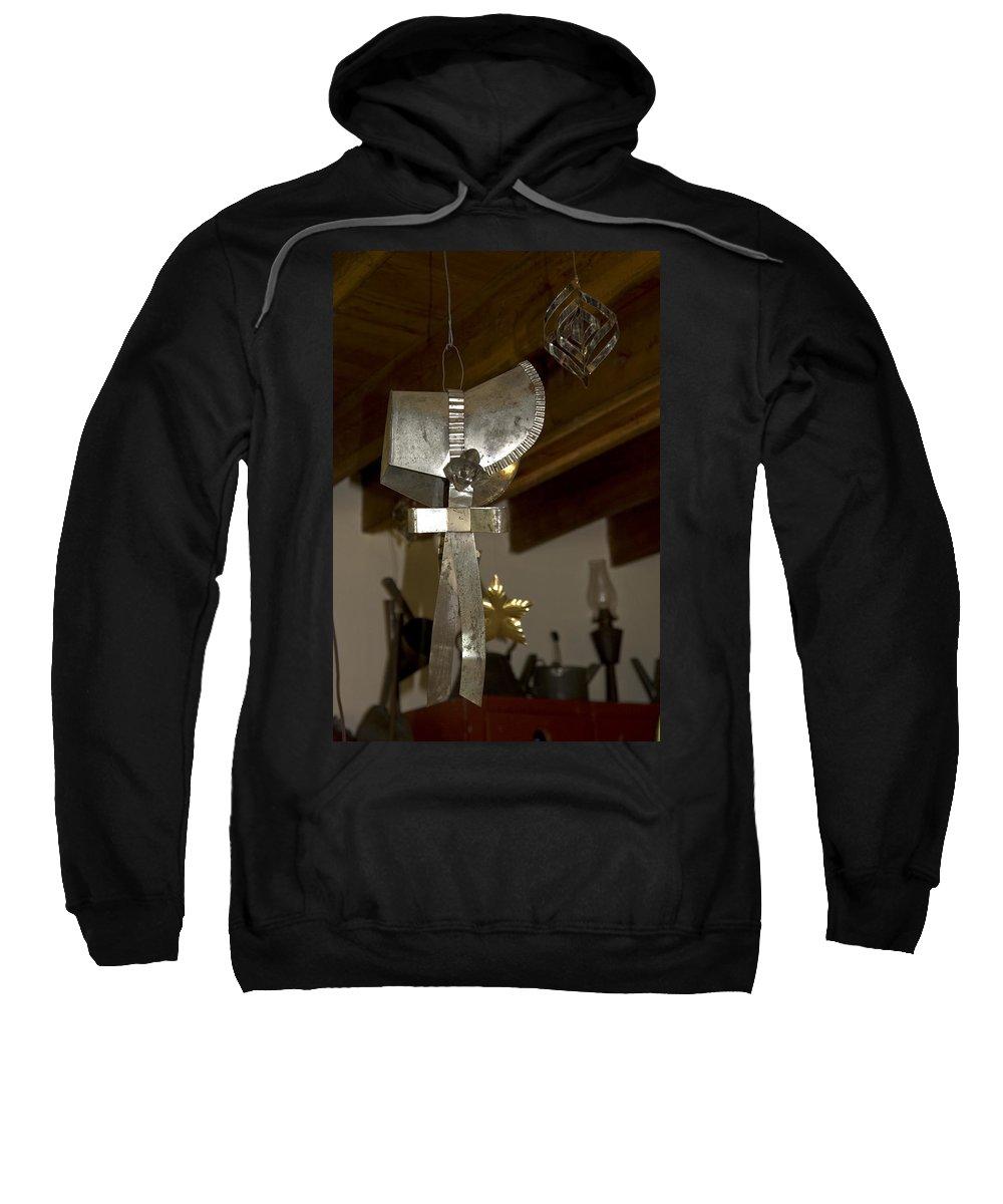Tin Bonnet Sweatshirt featuring the photograph Tin Bonnet by Sally Weigand