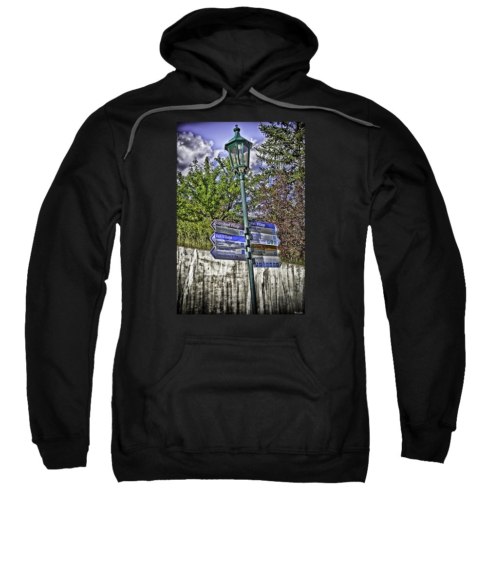 Vail Sweatshirt featuring the photograph To Vail With Love by Madeline Ellis