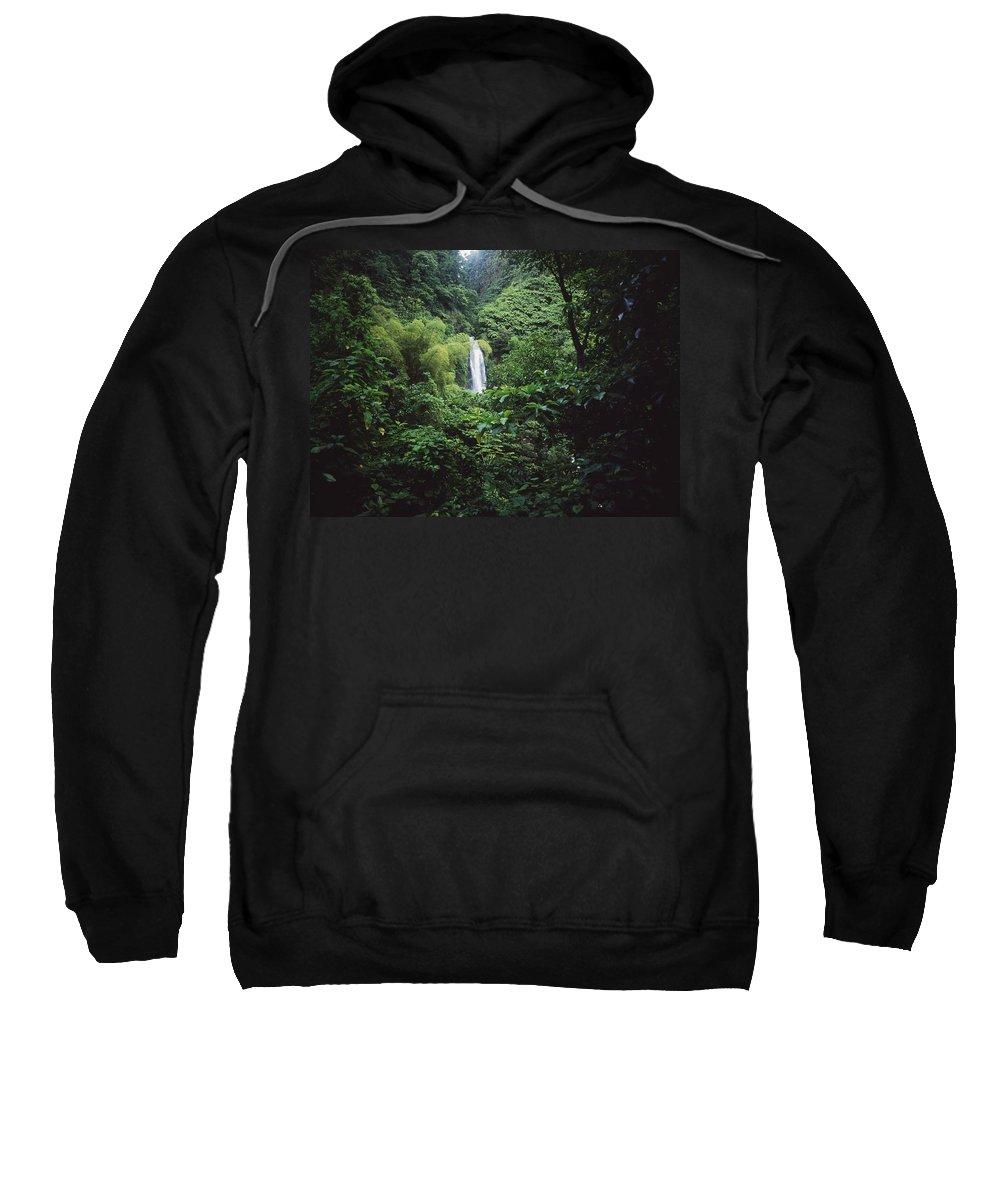 Photography Sweatshirt featuring the photograph Trafalgar Falls by Axiom Photographic