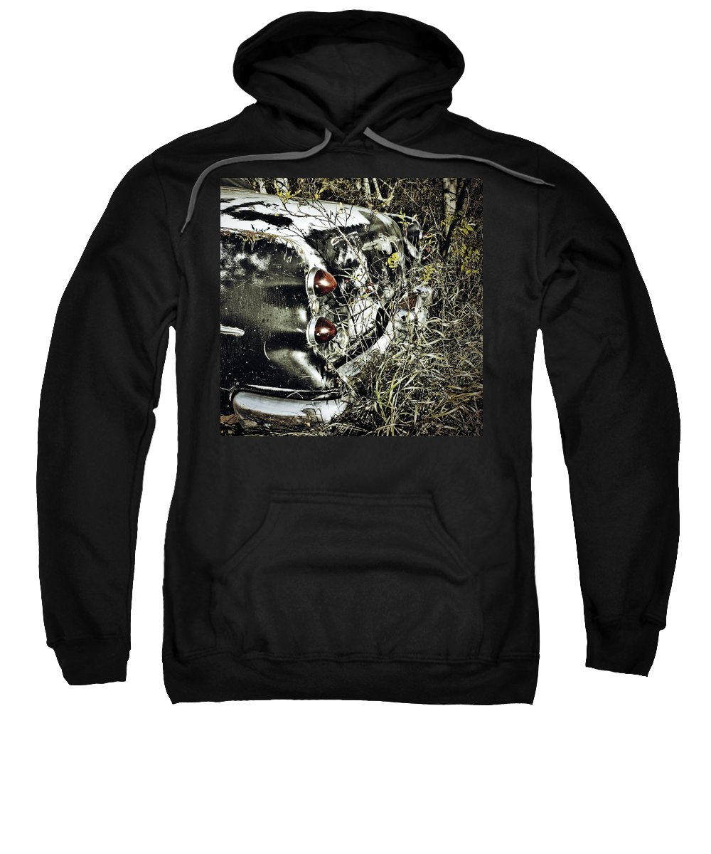 Street Photographer Framed Prints Sweatshirt featuring the photograph Trees And Trunk by The Artist Project