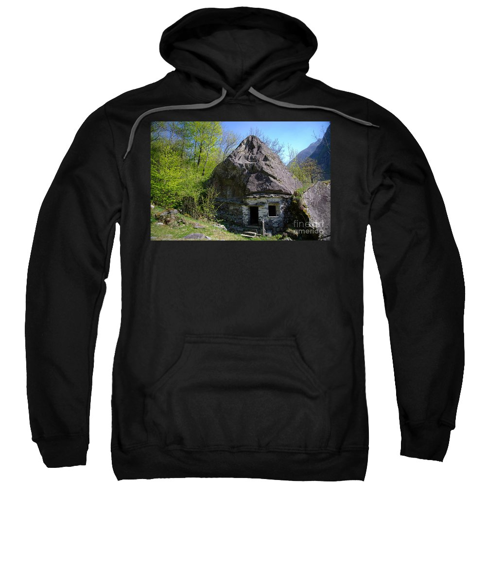 Cheese Sweatshirt featuring the photograph Troll House by Mats Silvan