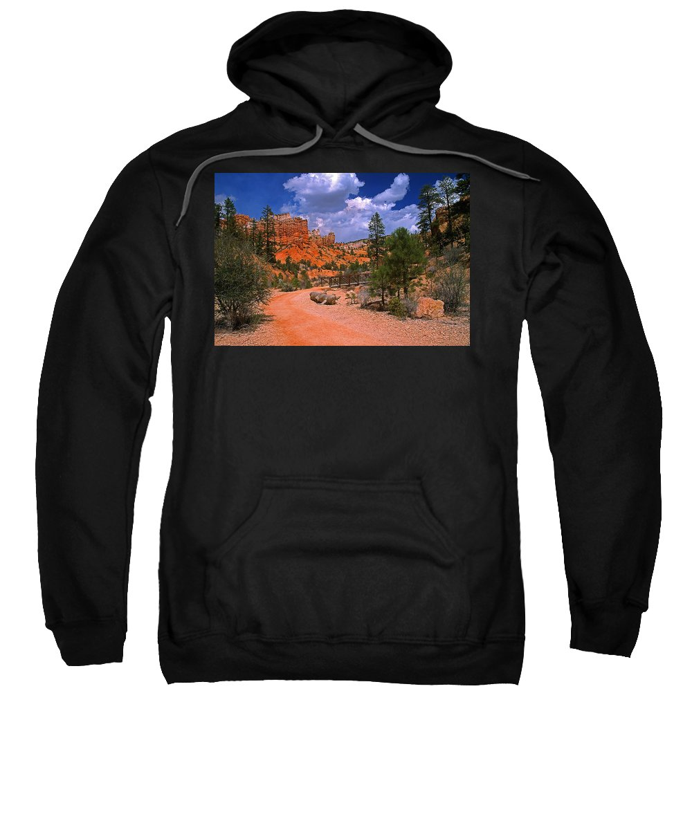 Utah Sweatshirt featuring the photograph Tropic Canyon In Bryce Canyon Park by Rich Walter
