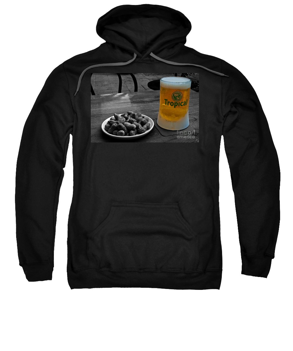 Tropical Sweatshirt featuring the photograph Tropical Beer by Rob Hawkins