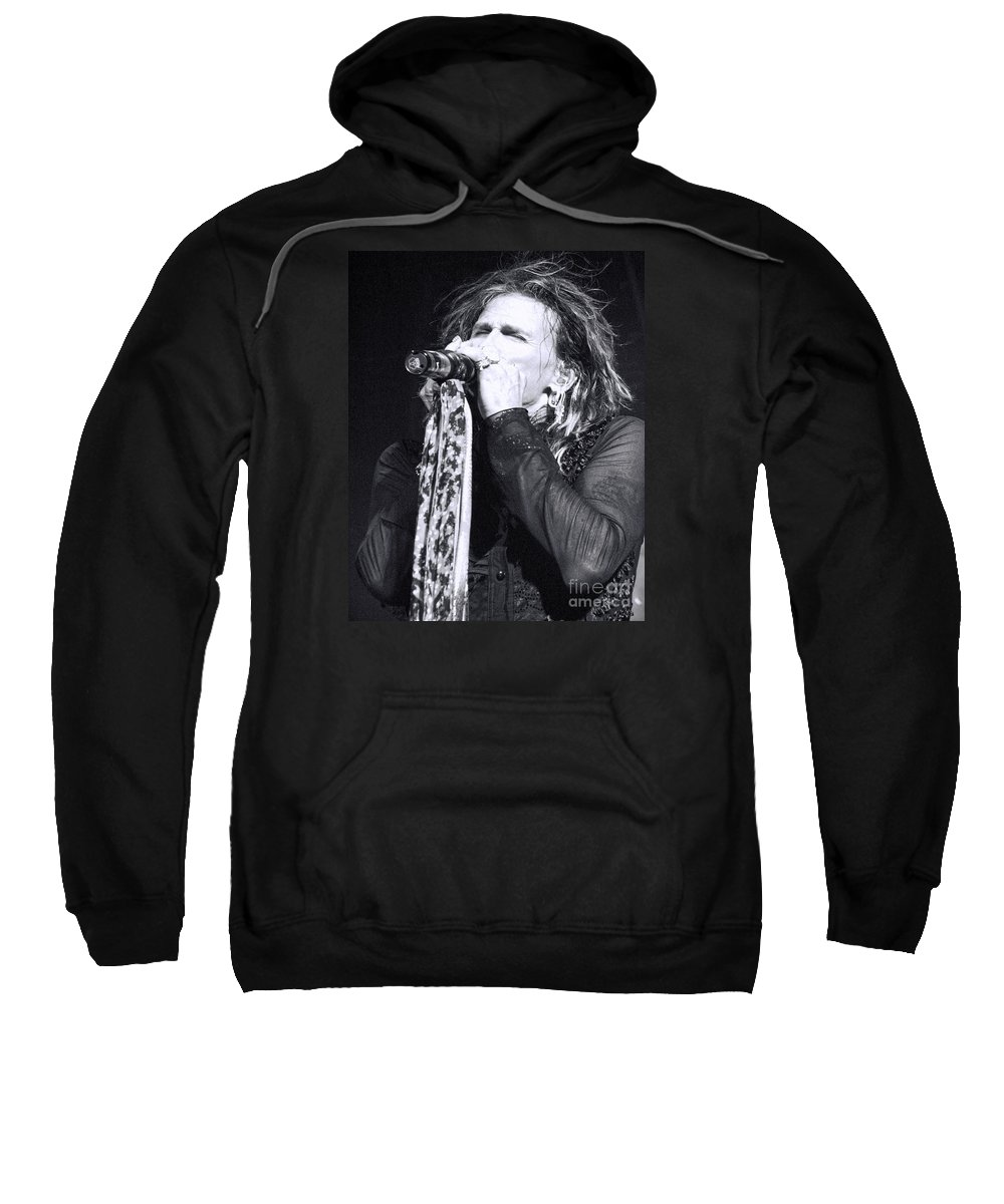 Steven Tyler Sweatshirt featuring the photograph Tyler by Traci Cottingham