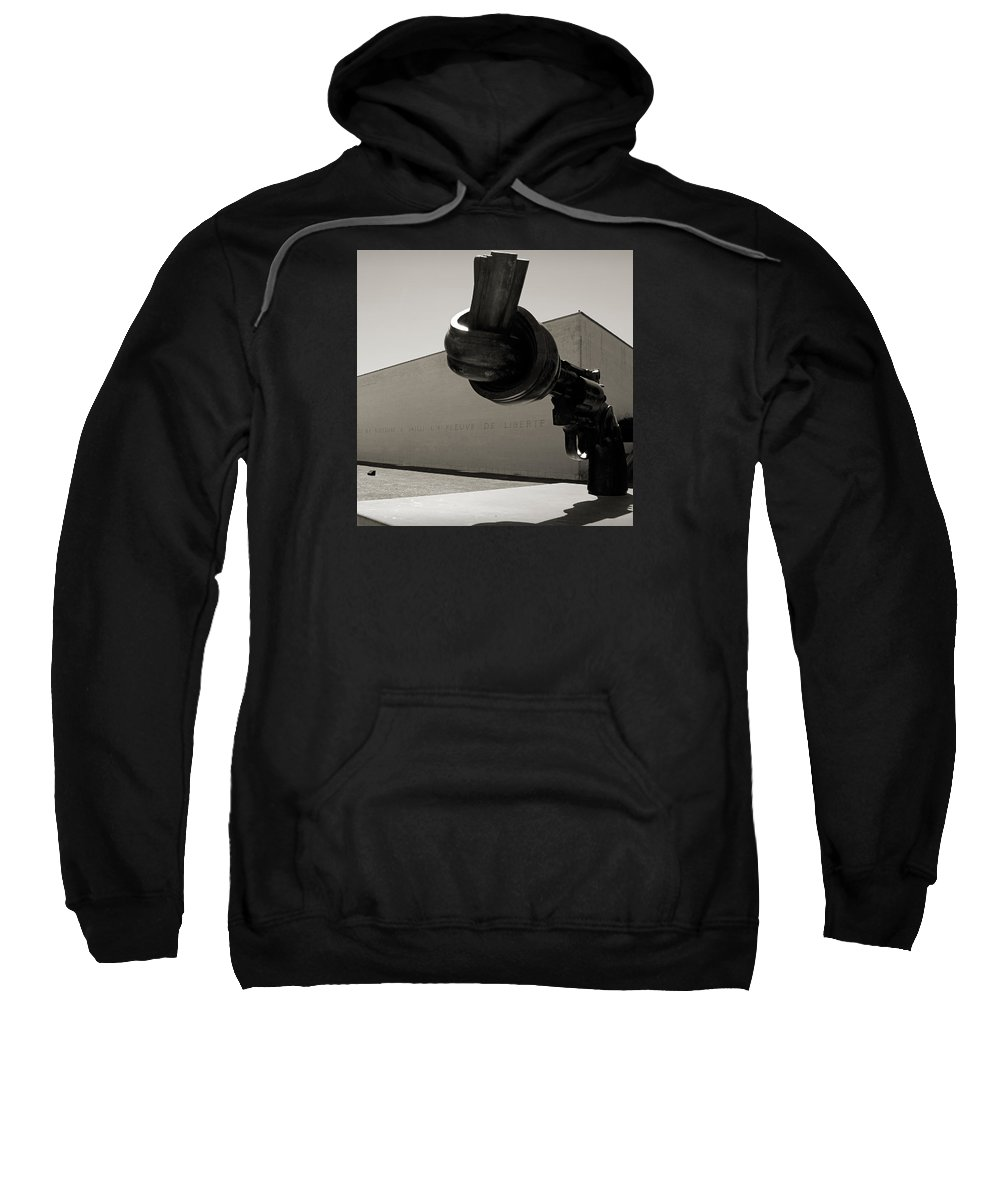 Memorial De Caen Sweatshirt featuring the photograph Un Fleuve De Liberte by RicardMN Photography