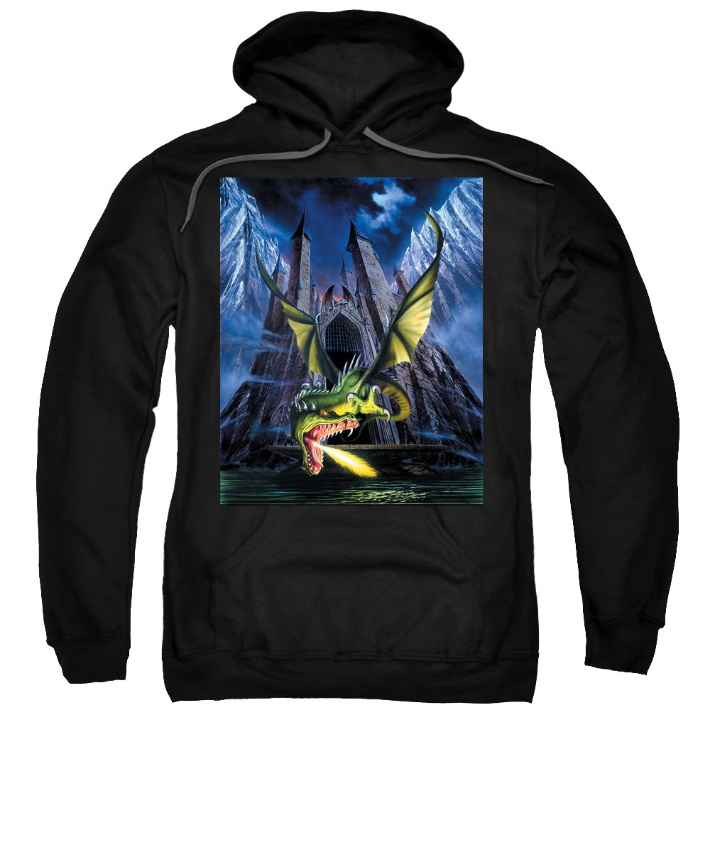 Dragon Sweatshirt featuring the photograph Unleashed by The Dragon Chronicles