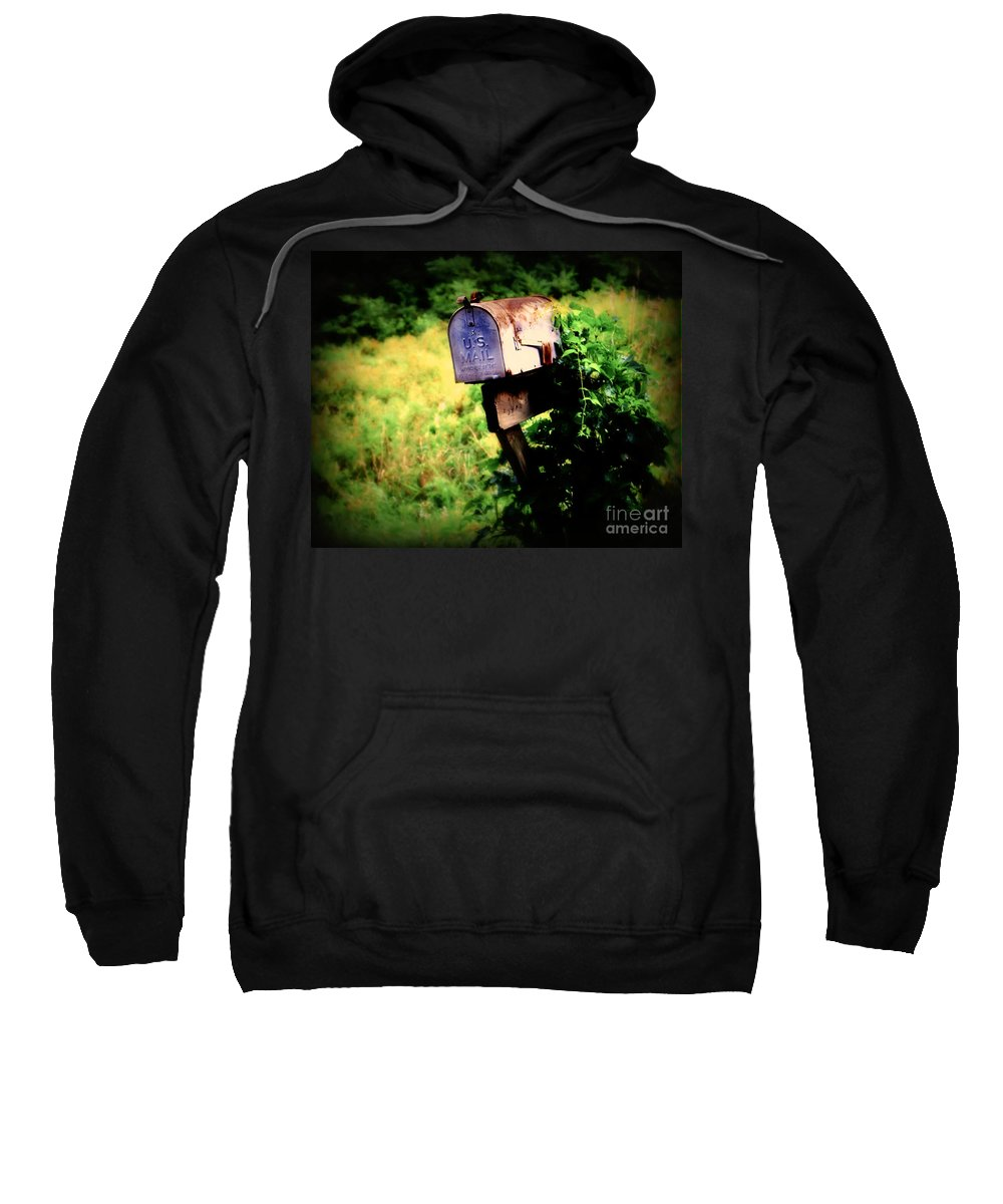 Mail Sweatshirt featuring the photograph U.s. Mail by Perry Webster