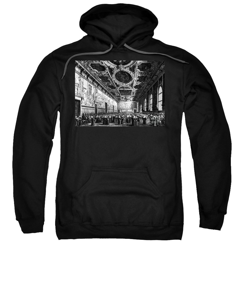 18th Century Sweatshirt featuring the photograph Venice: Doges Palace by Granger