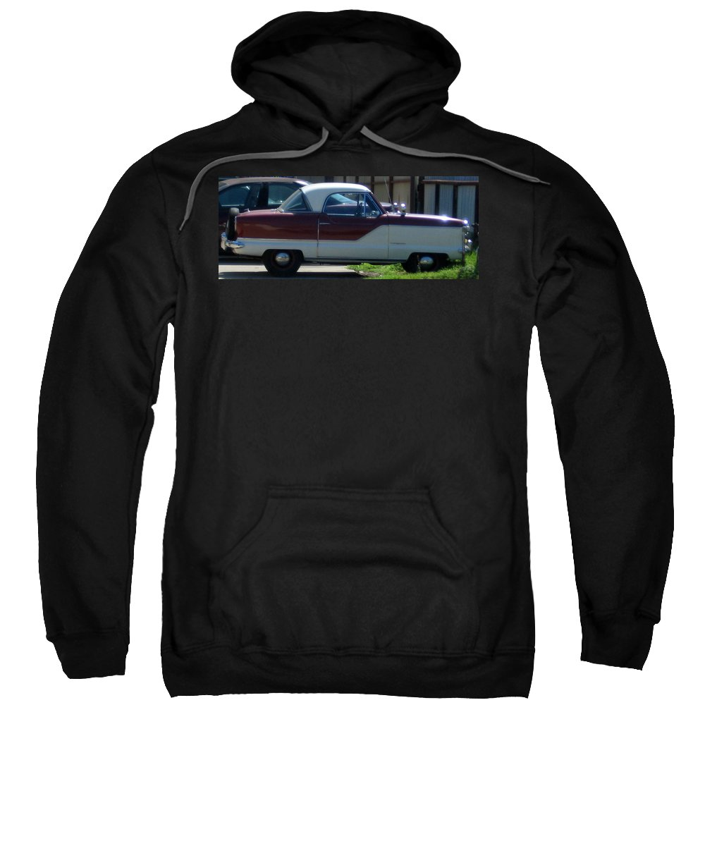 Old Car Sweatshirt featuring the photograph Vroom Vroom by Amy Hosp