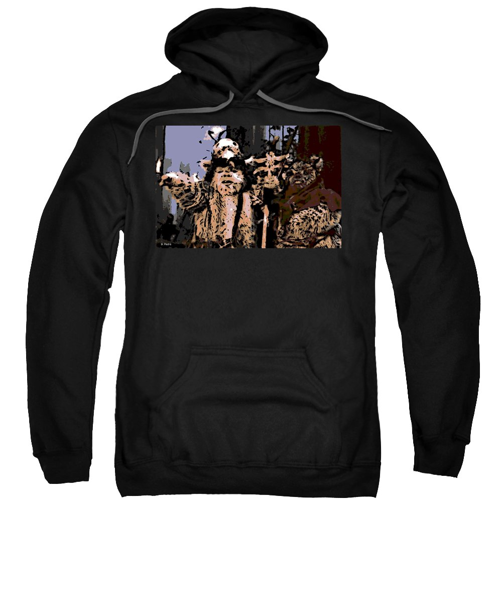 Ewoks Sweatshirt featuring the photograph Warriors by George Pedro