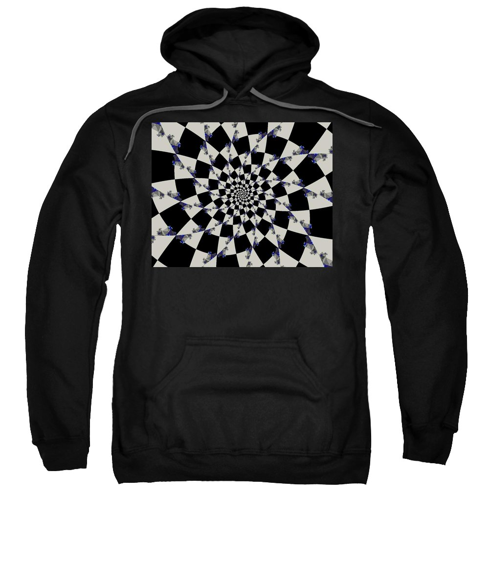 Fragile Canvas Prints Sweatshirt featuring the digital art Way To Confusion by Ester Rogers