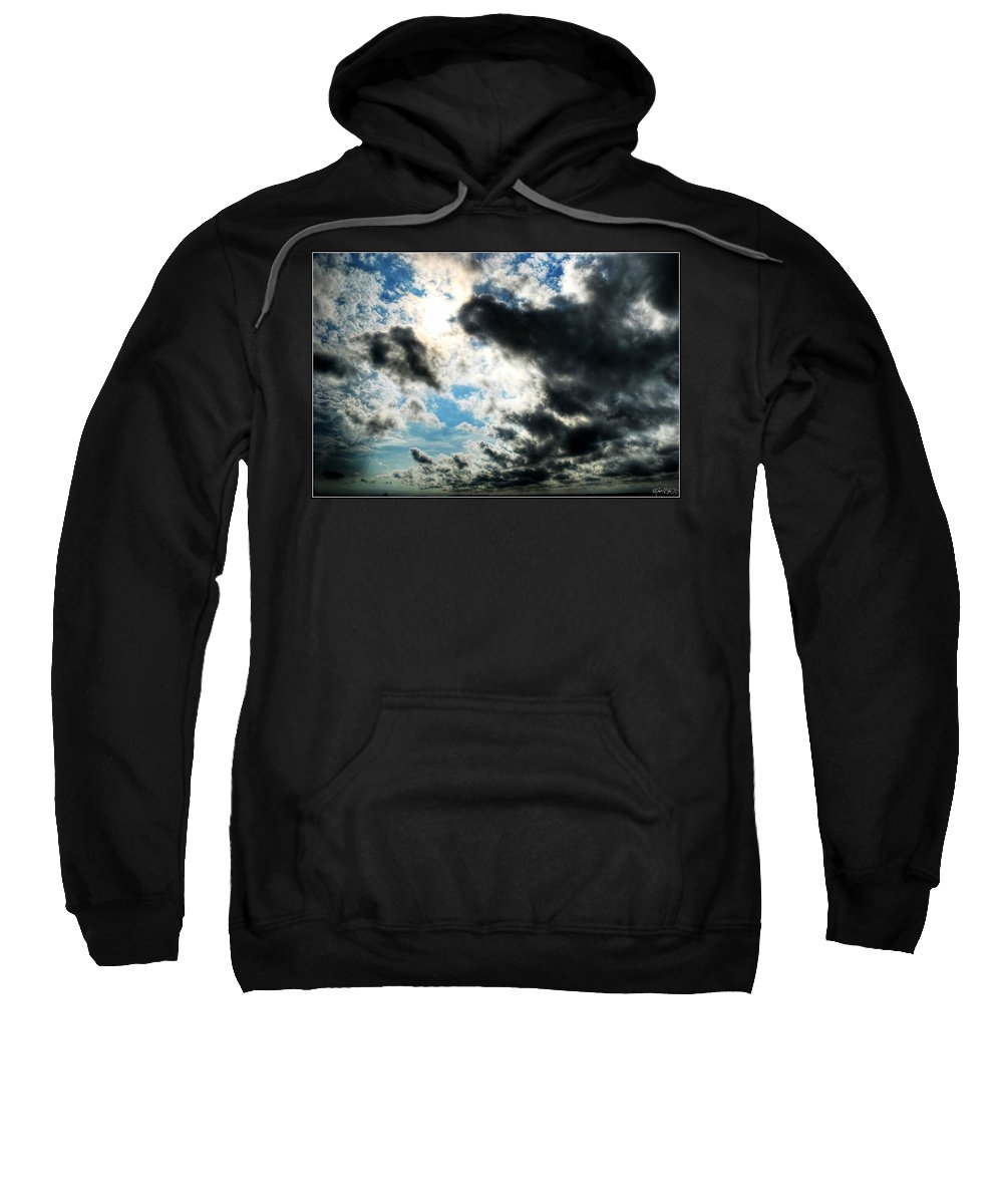 Sweatshirt featuring the photograph When The Storm Subsides by Michael Frank Jr