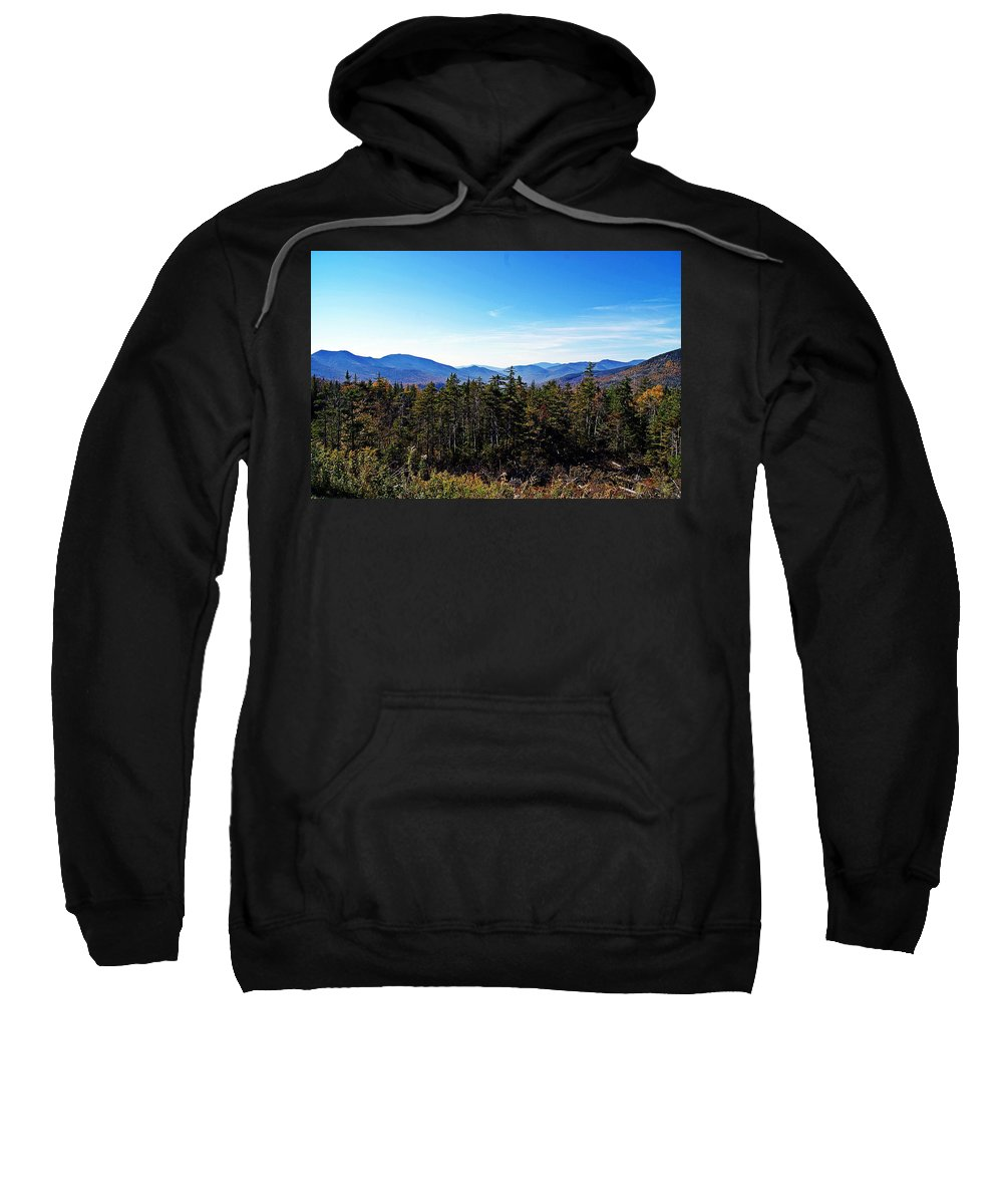 White Mountain Sweatshirt featuring the photograph White Mountain National Forest II by Joe Faherty