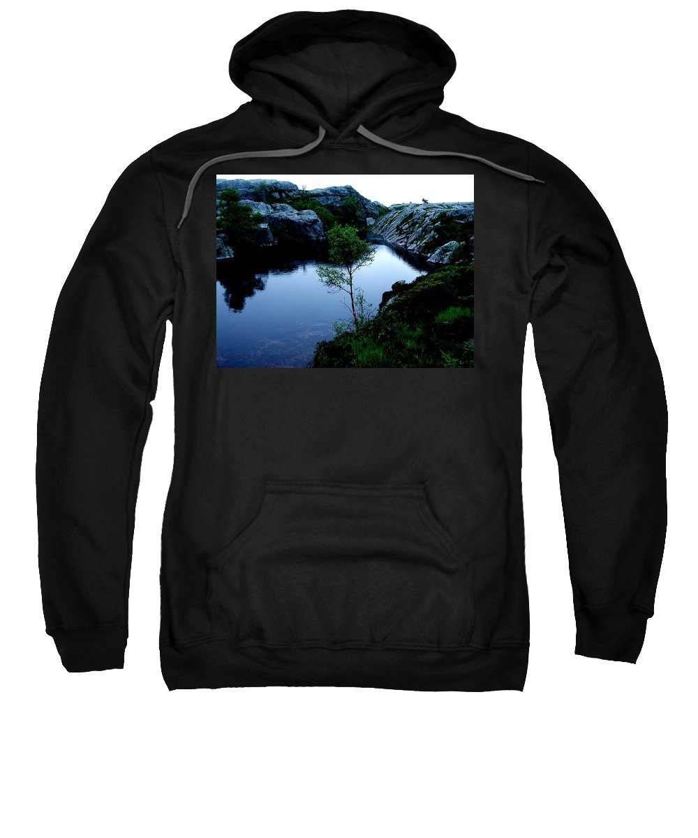 Colette Sweatshirt featuring the photograph Wild Nature In Norway by Colette V Hera Guggenheim