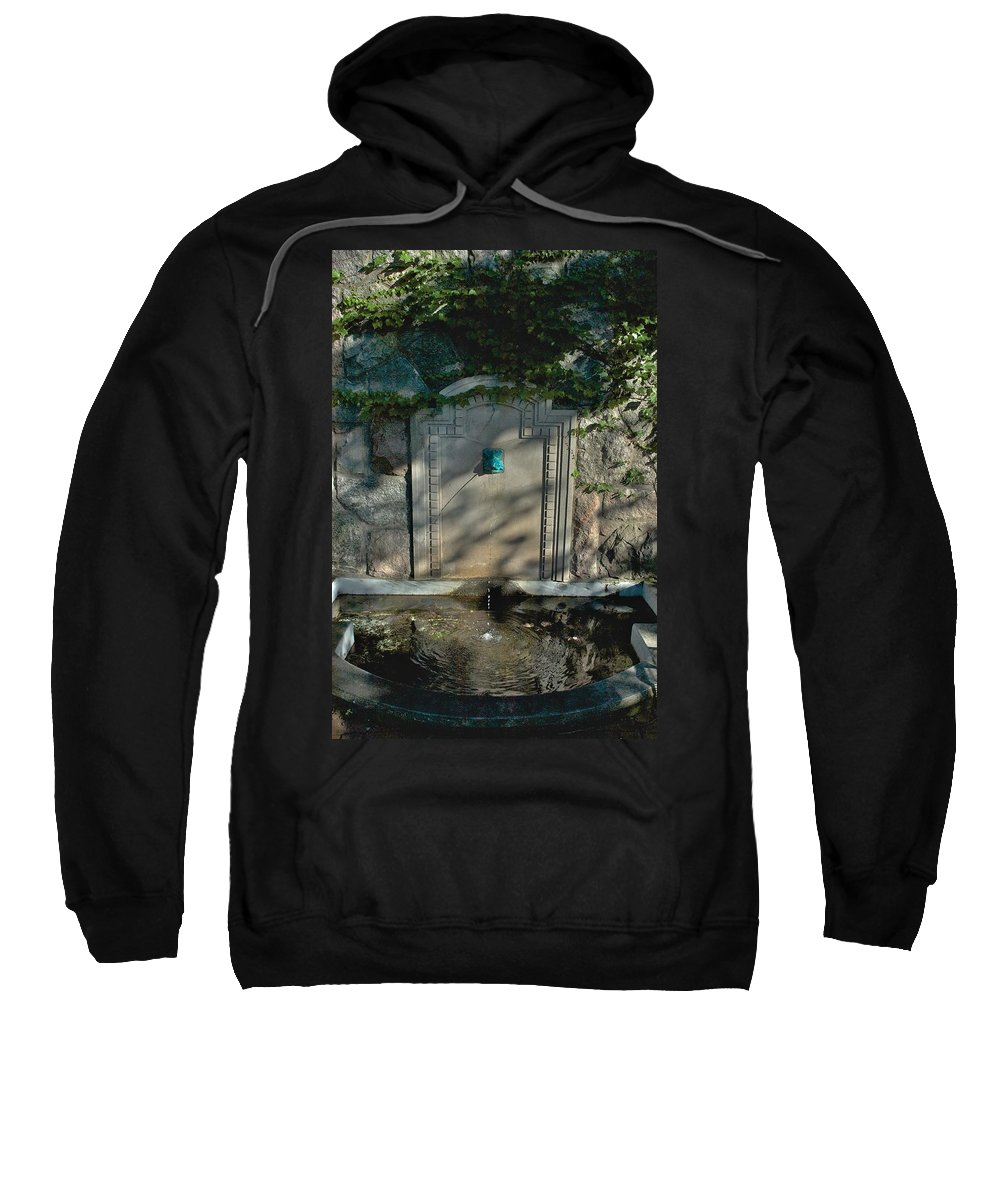 Dorm Sweatshirt featuring the photograph Williams Pool by Joseph Yarbrough