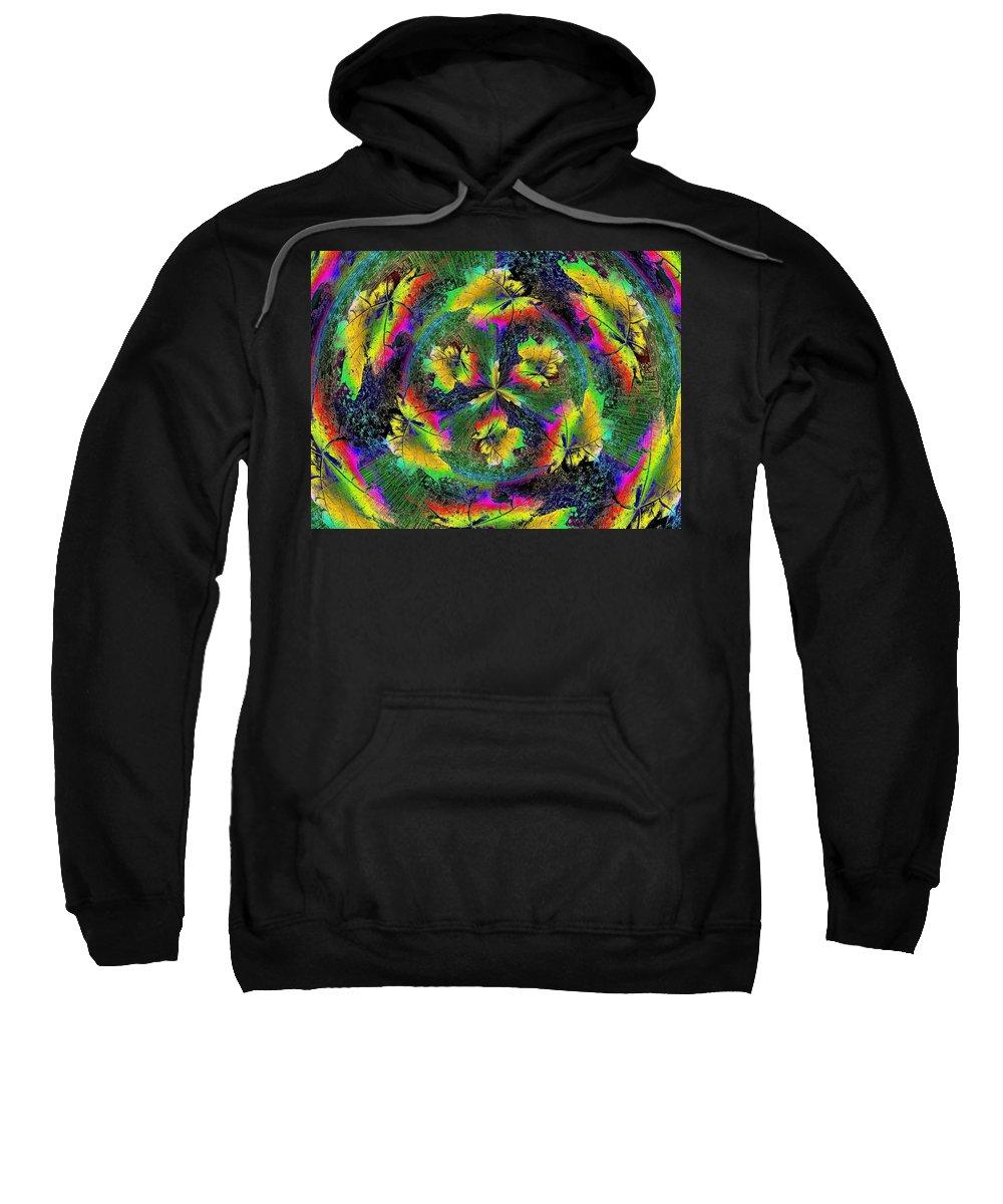 Wind Sweatshirt featuring the digital art Windblown 3 by Tim Allen