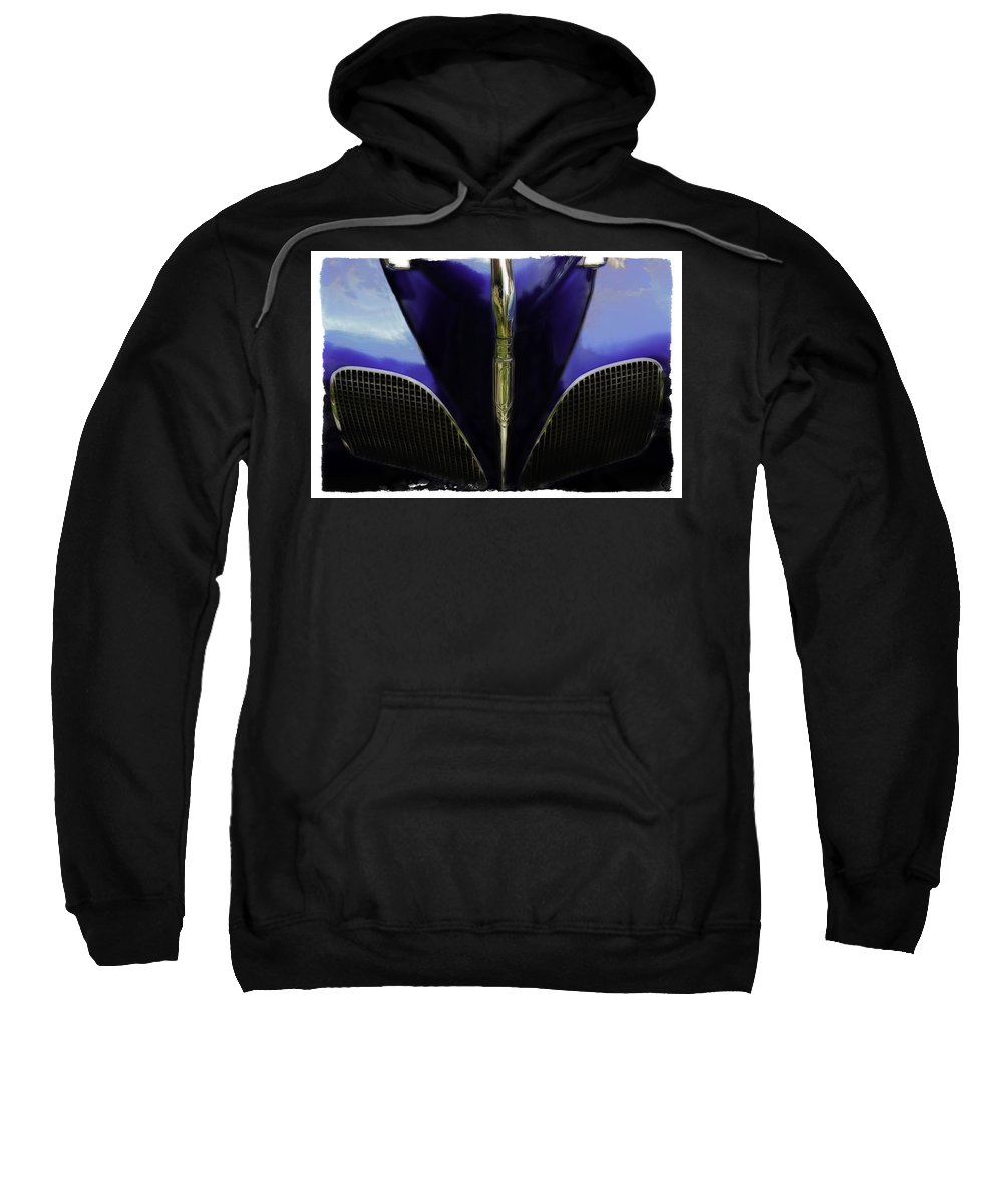 Old Sweatshirt featuring the photograph Wings by Jerry Golab