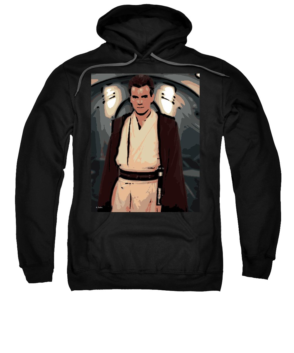 Young Sweatshirt featuring the photograph Young Obi Wan Kenobi by George Pedro