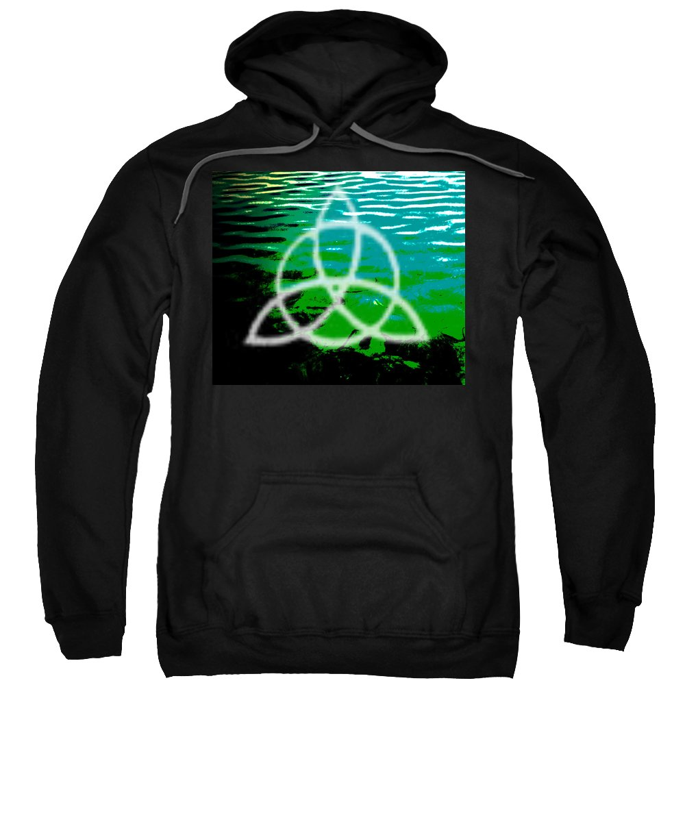 Photographs Framed Prints Sweatshirt featuring the photograph Zep by The Artist Project