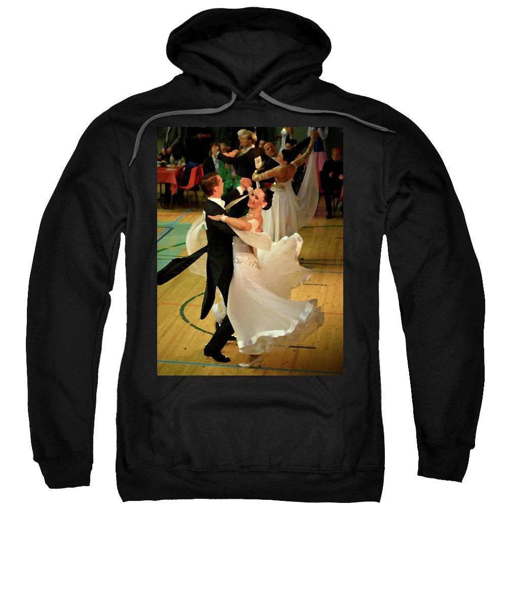 Lehtokukka Sweatshirt featuring the photograph Dance Contest Nr 08 by Jouko Lehto