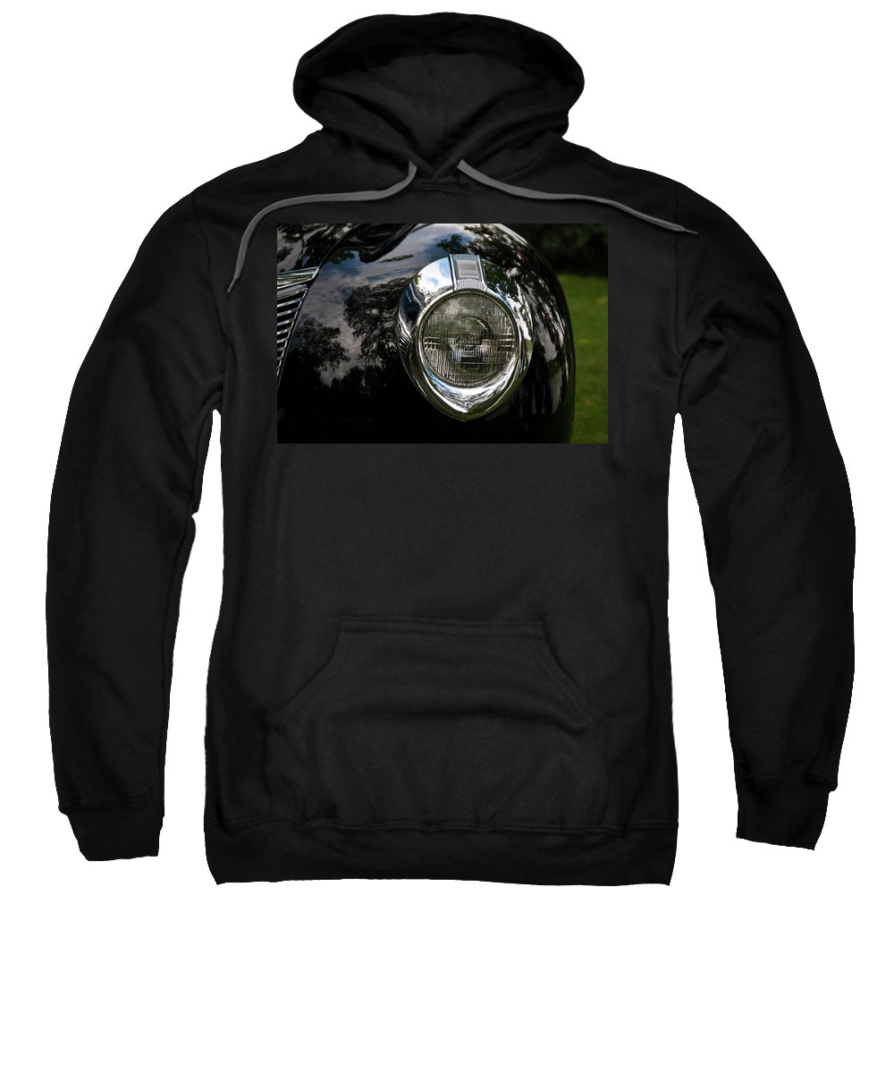Antique Car Sweatshirt featuring the photograph One Eye 13128 by Guy Whiteley