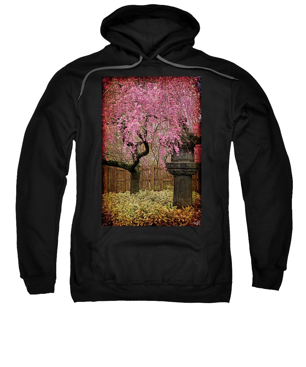 Asian Sweatshirt featuring the photograph Asian Spring by Chris Lord