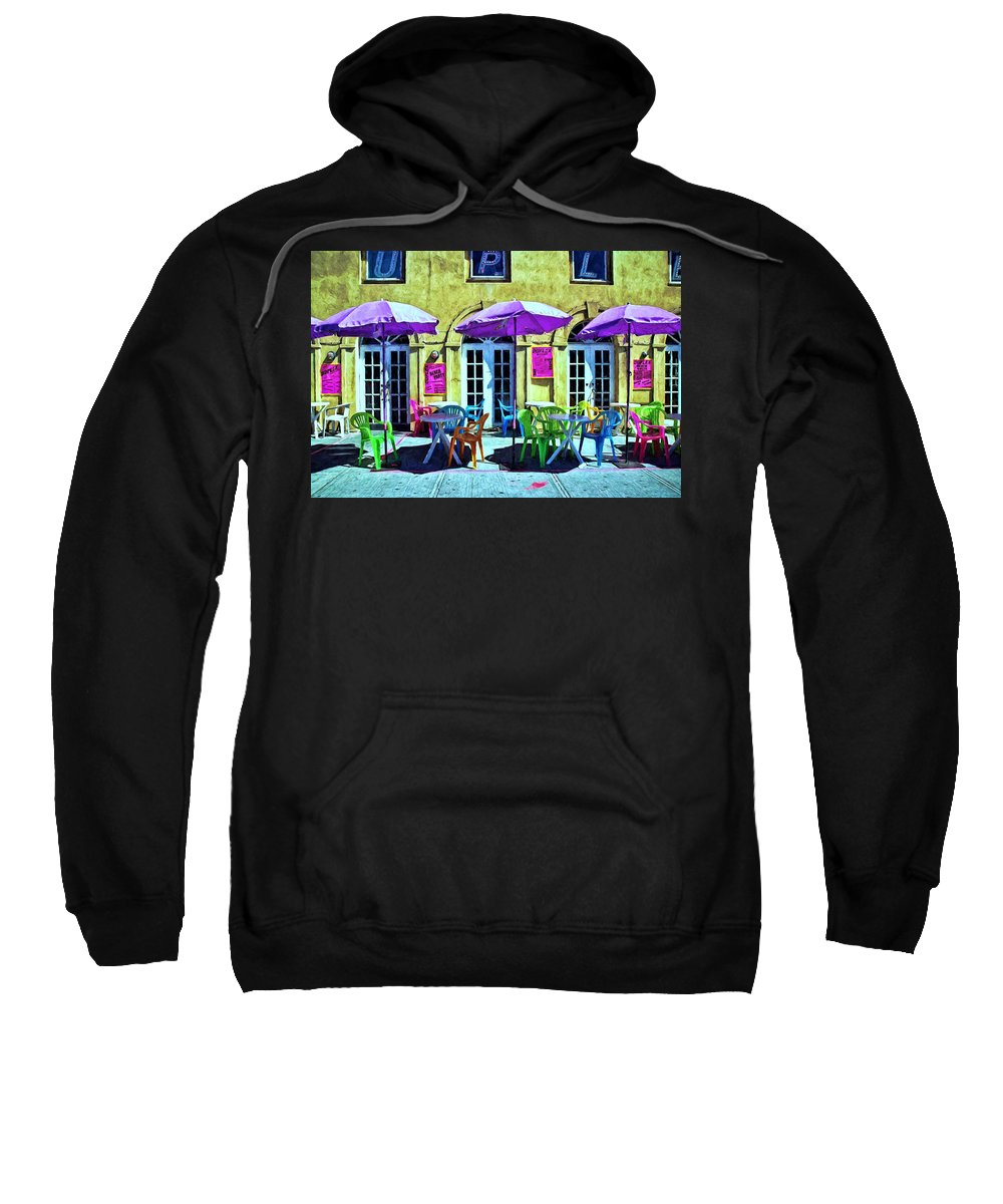 Florida Sweatshirt featuring the photograph Before The Rush by Allen Beatty