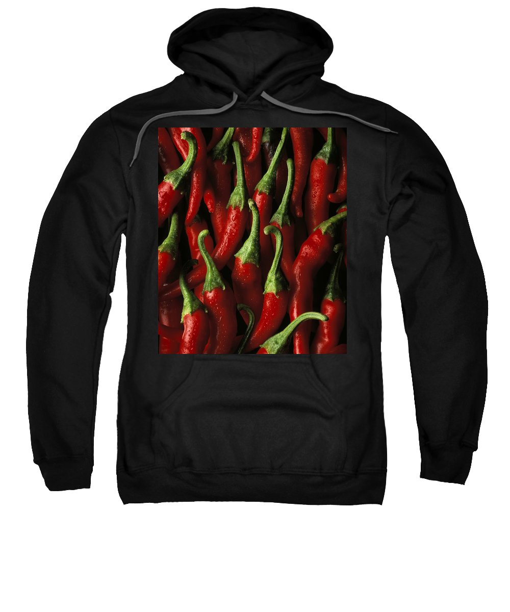 Sweatshirt featuring the photograph Cayenne by Daniel Troy