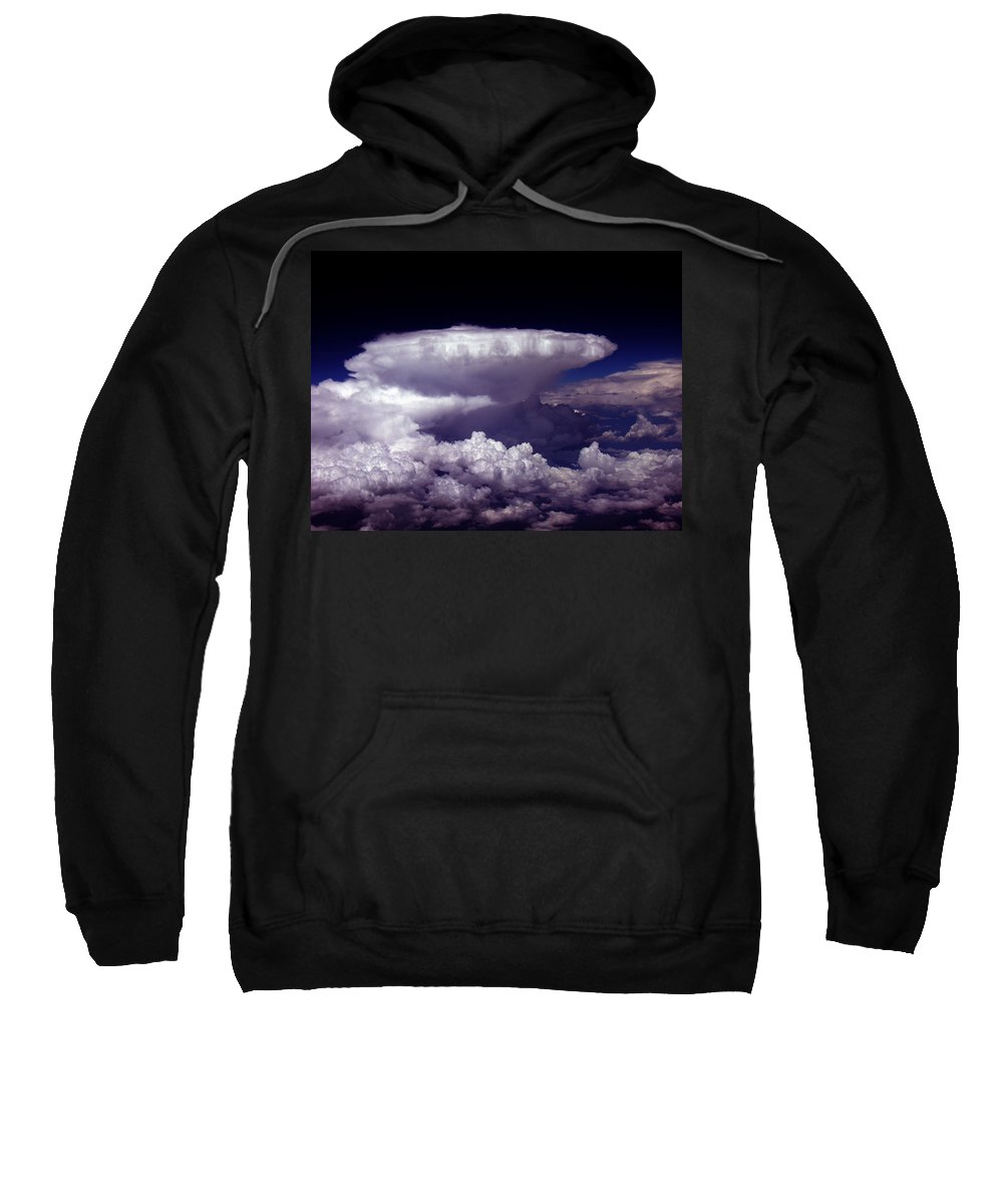 Aviation Art Sweatshirt featuring the photograph Cb2.074 by Strato ThreeSIXTYFive