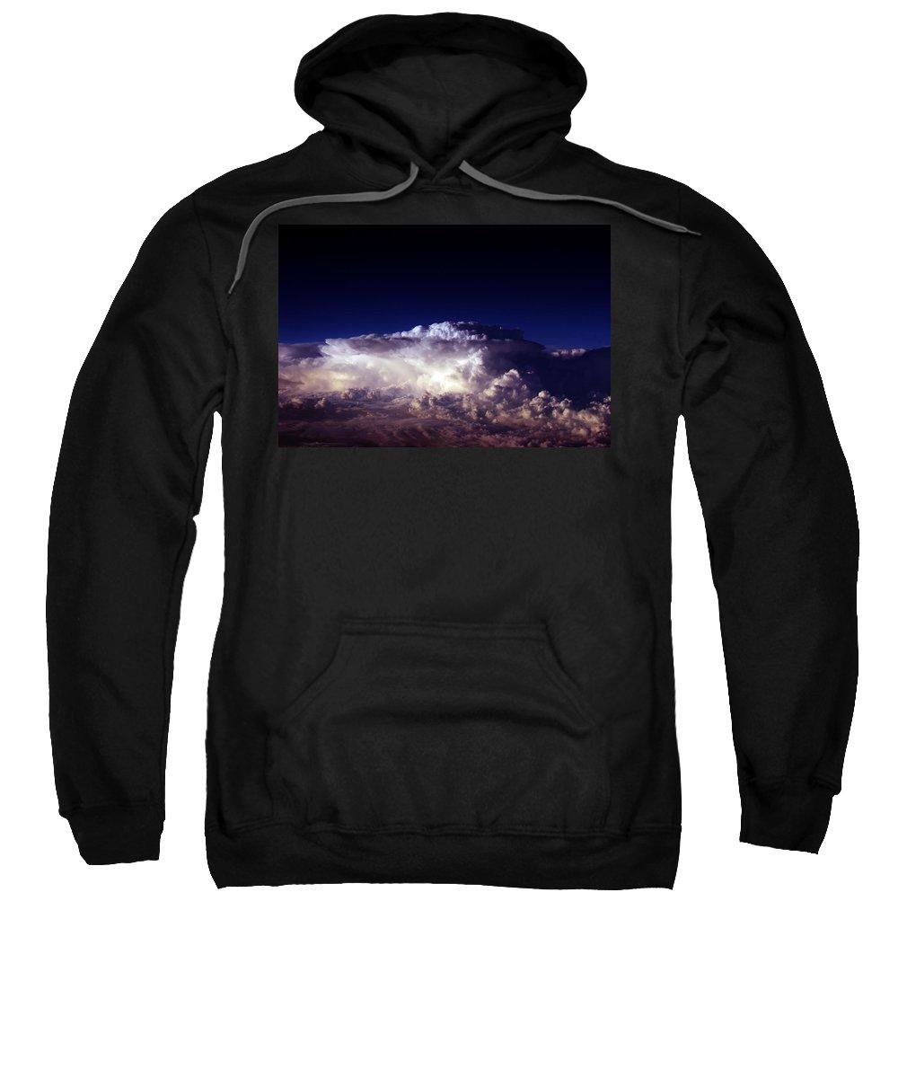 Aviation Art Sweatshirt featuring the photograph Cb2.116 by Strato ThreeSIXTYFive