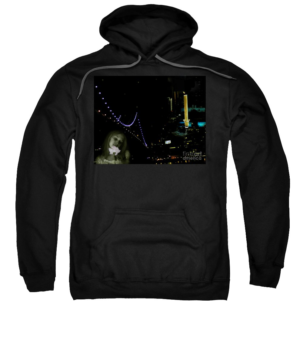 City Sweatshirt featuring the photograph City Of Dreams 2 by Madeline Ellis