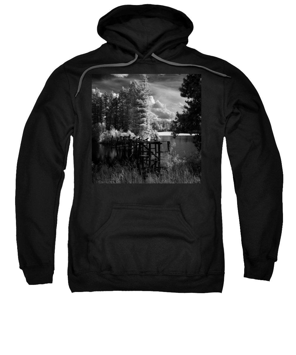 Landscape Sweatshirt featuring the photograph Cocolala Creek Slough by Lee Santa