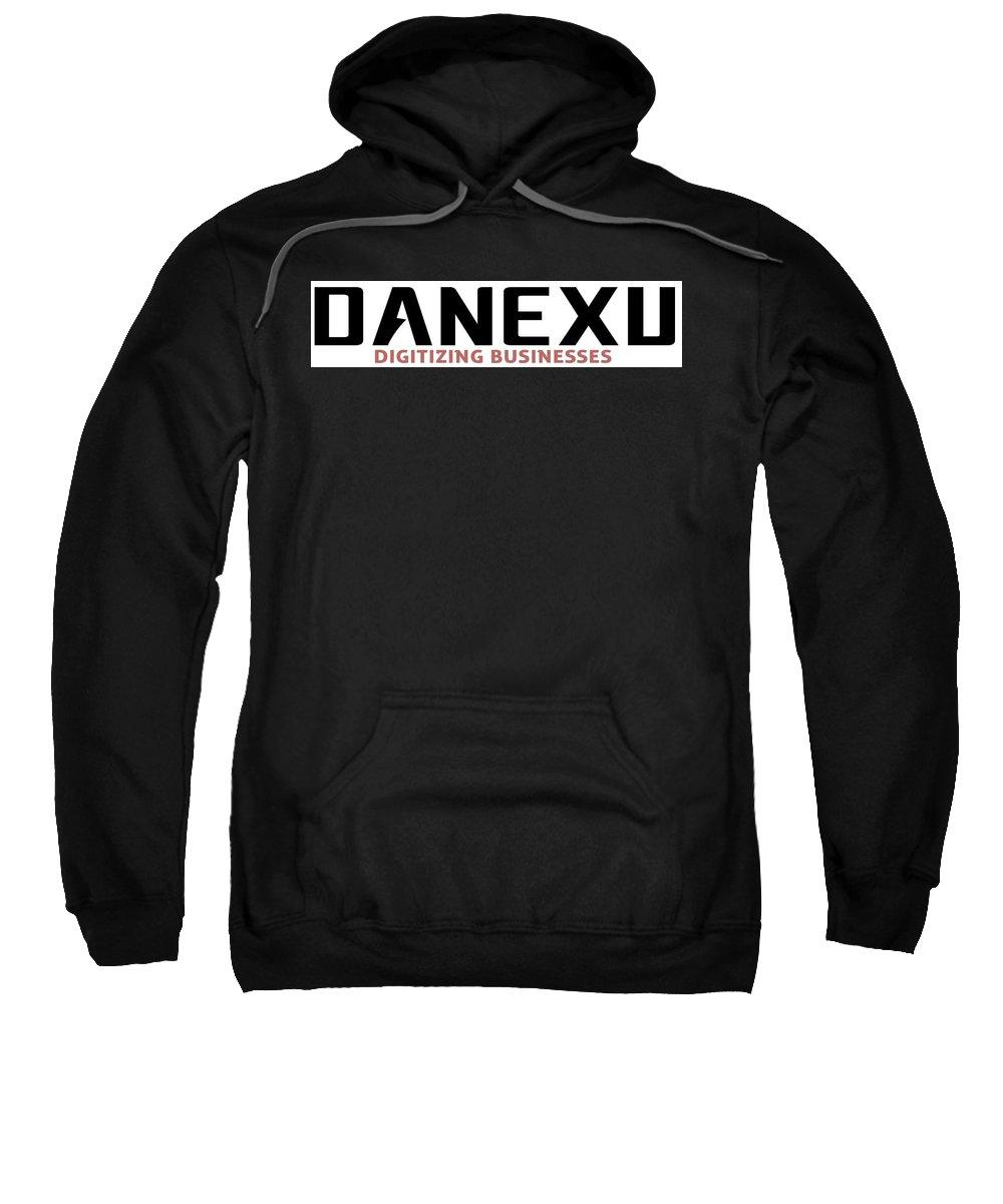 Sweatshirt featuring the photograph Danexu Technologies Logo by Danexu