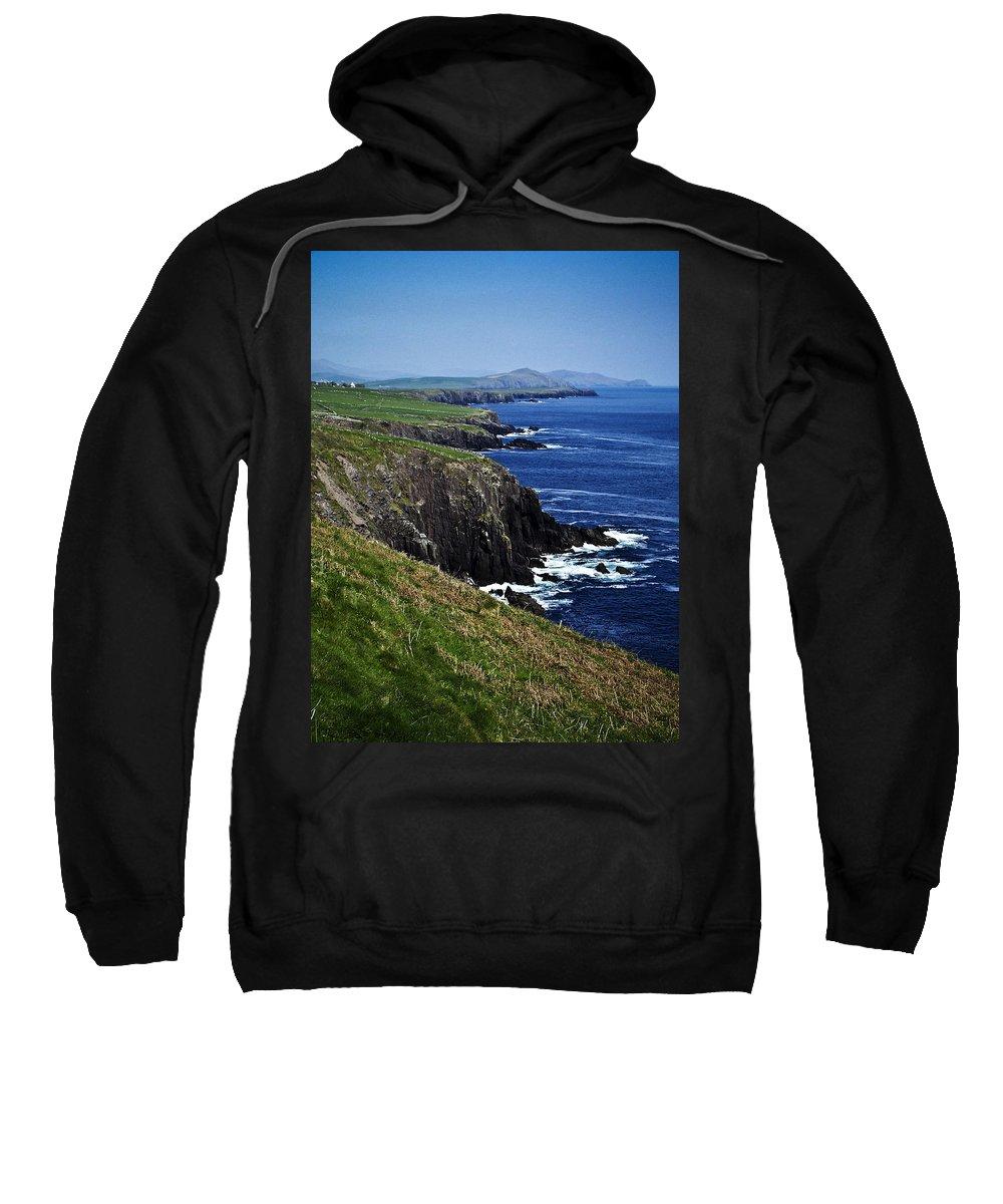 Irish Sweatshirt featuring the photograph Dingle Coastline Near Fahan Ireland by Teresa Mucha
