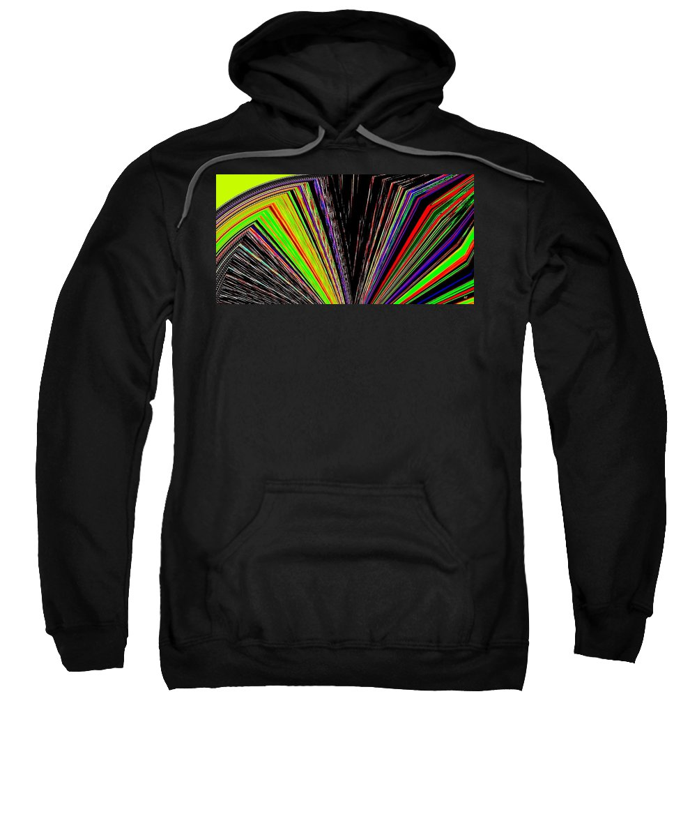 Fandango Sweatshirt featuring the digital art Fandango by Will Borden