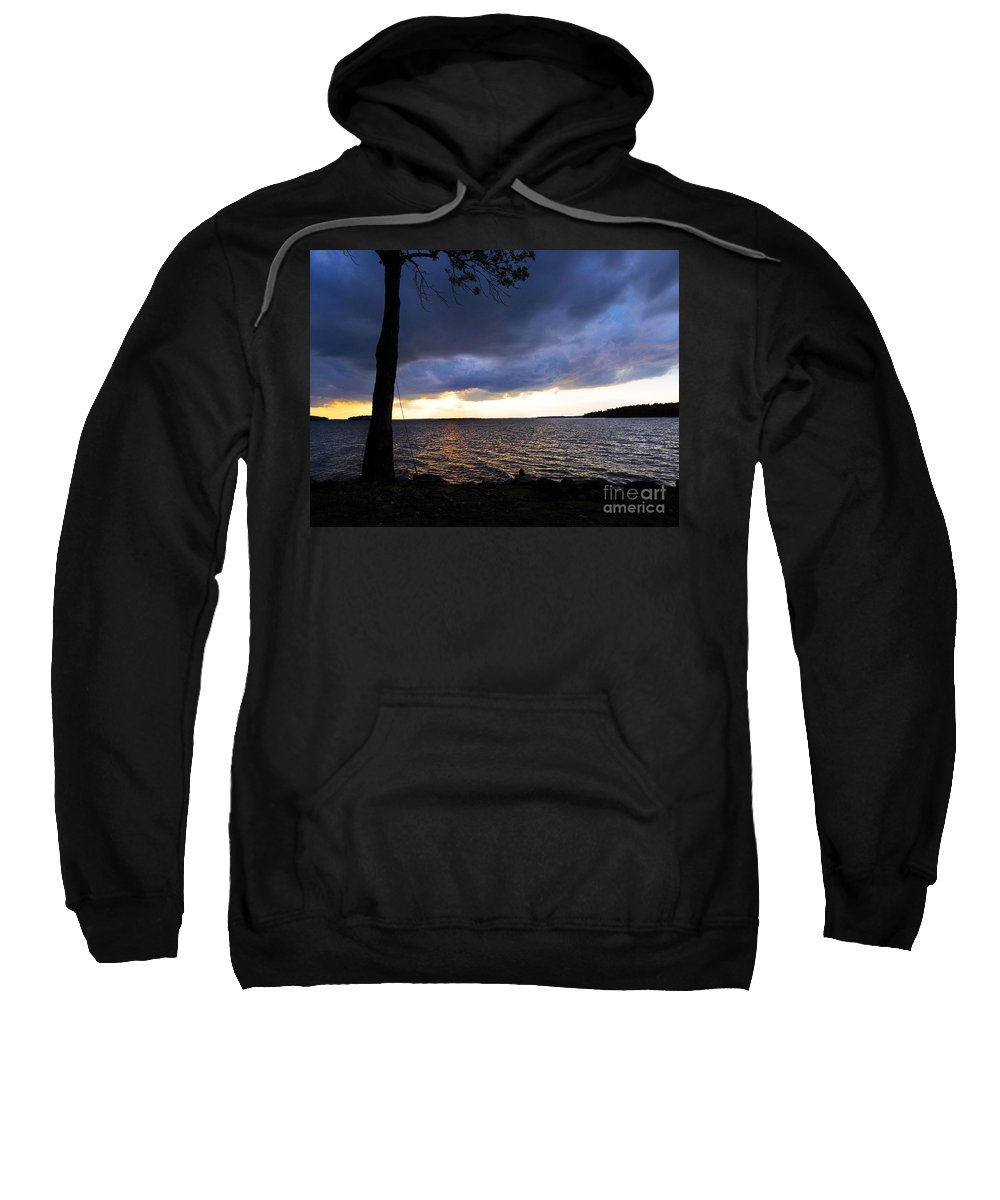 Scenic Tours Sweatshirt featuring the photograph Fisherman's Paradise by Skip Willits