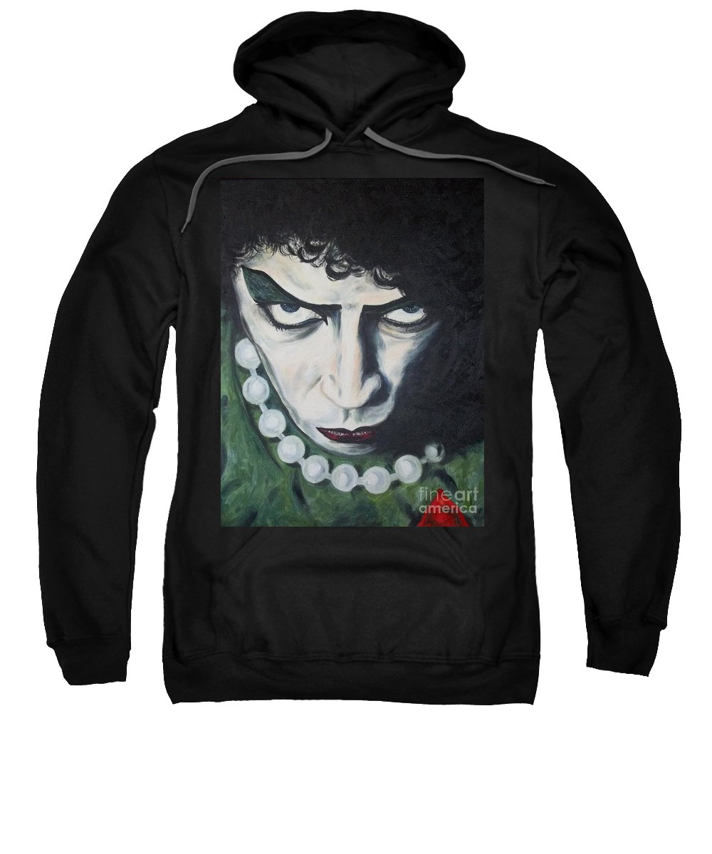 Sweatshirt featuring the painting Frankie by Deana Smith