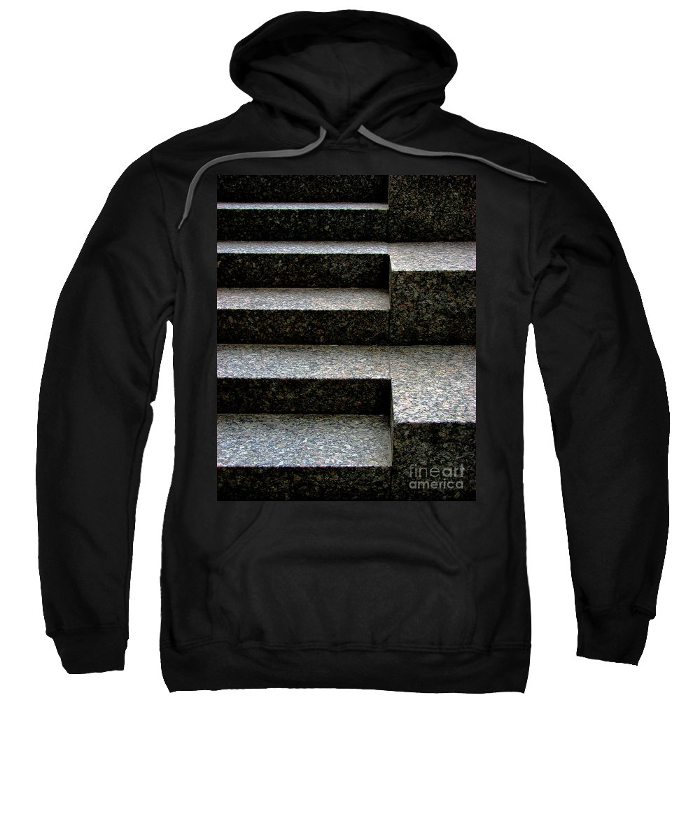 Architectural Sweatshirt featuring the photograph Gradation by Dana DiPasquale