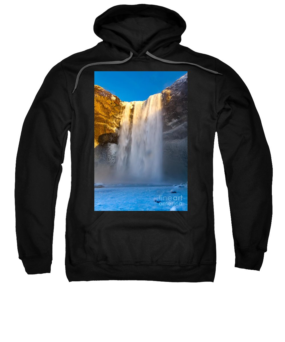 Iceland Sweatshirt featuring the photograph Iceland by Mariusz Czajkowski
