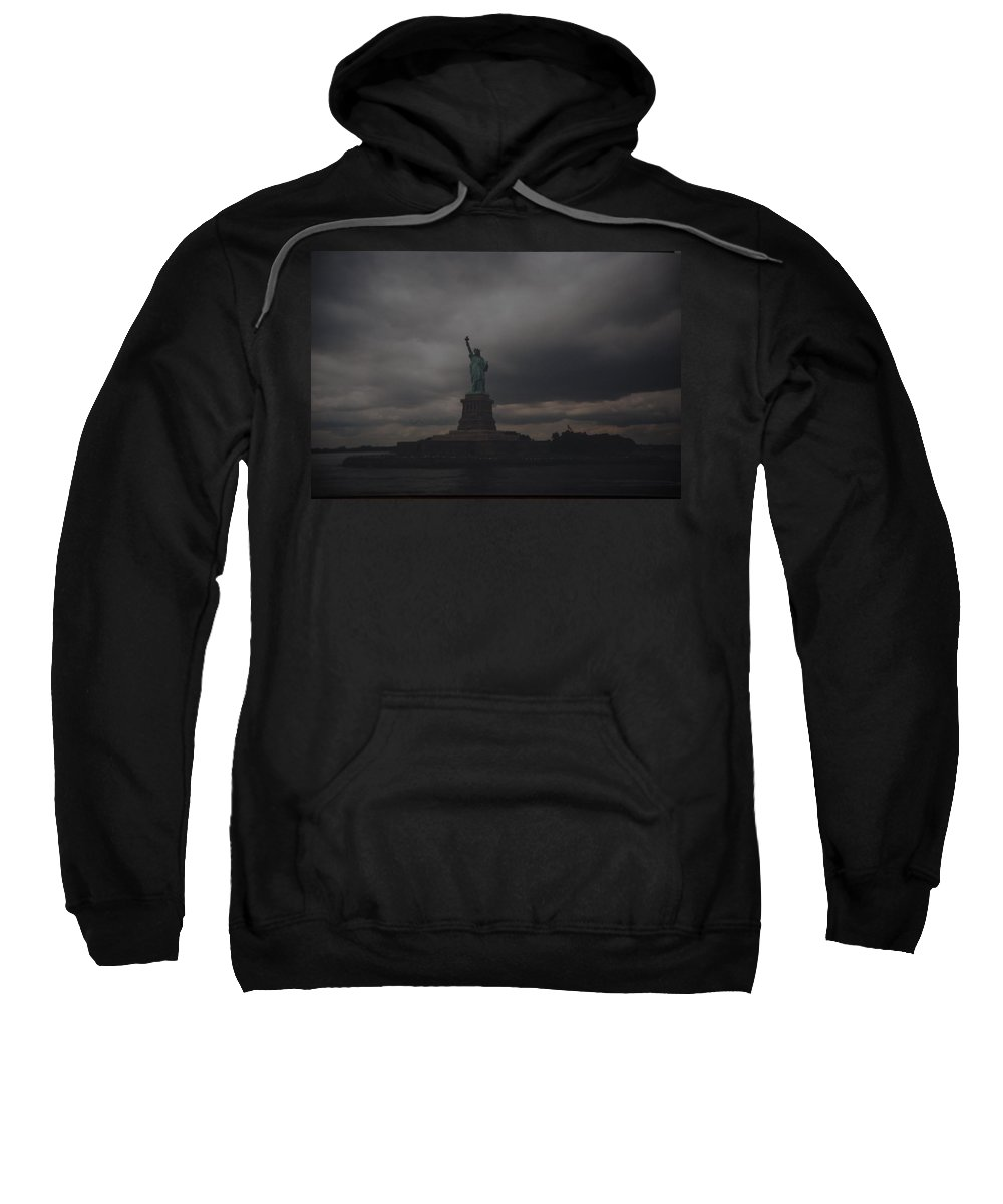 Statue Of Liberty Sweatshirt featuring the photograph Lady Liberty by Rob Hans