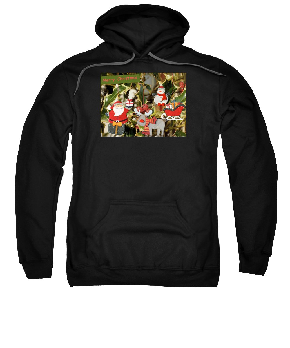 Christmas Sweatshirt featuring the photograph Merry Christmas by Guido Strambio