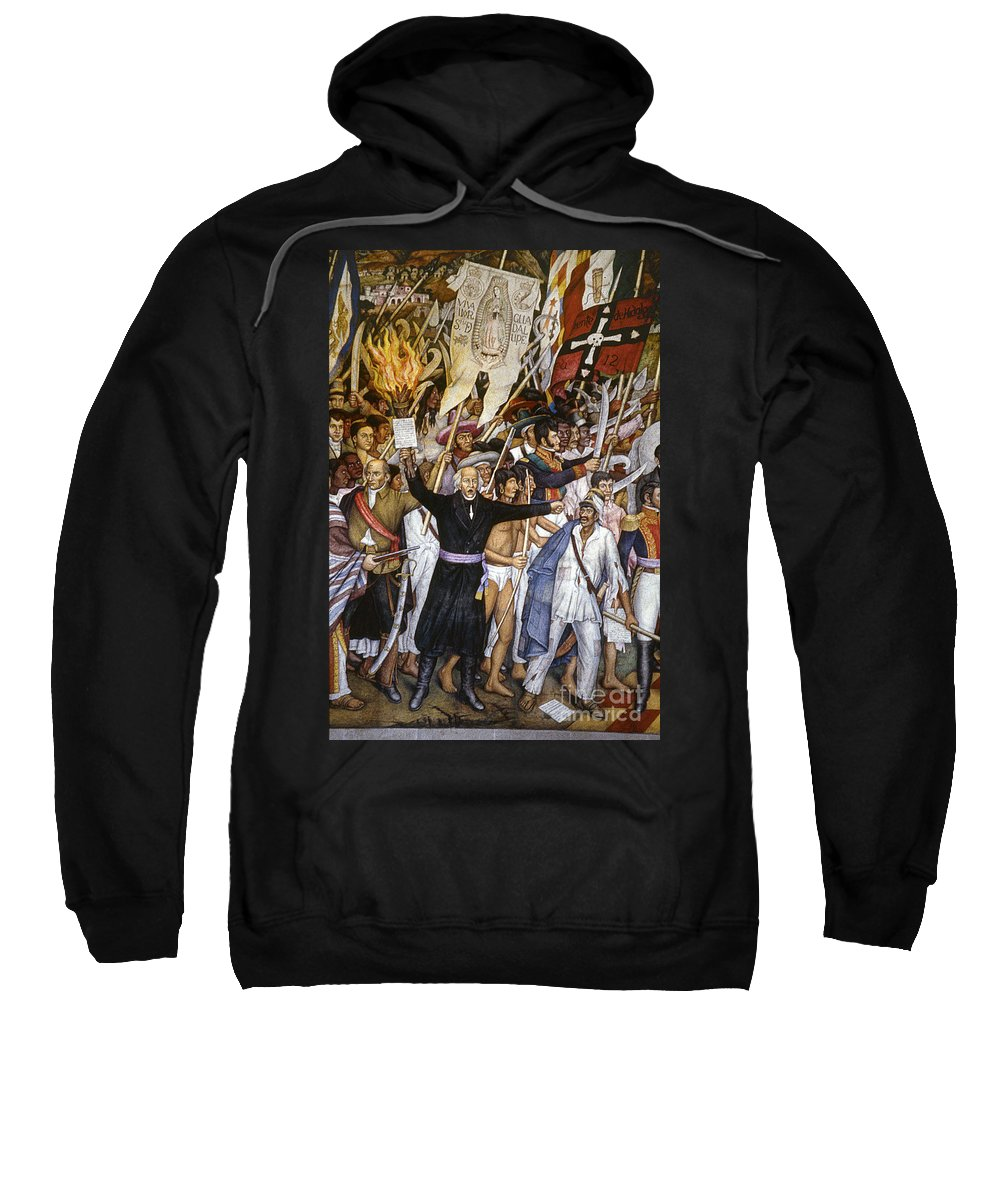 1810 Sweatshirt featuring the photograph Mexico: 1810 Revolution by Granger