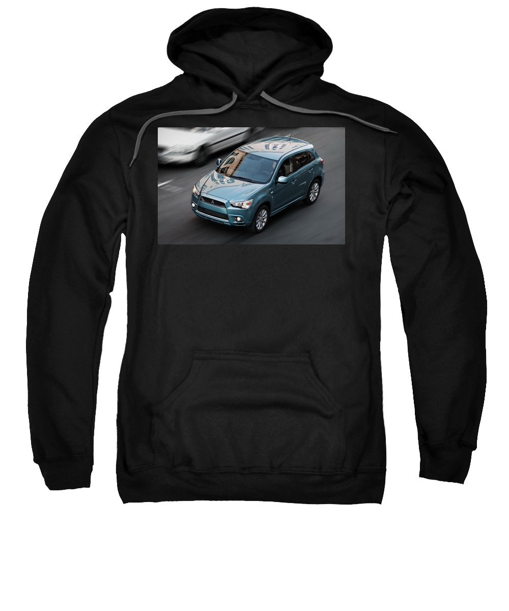 Mitsubishi Sweatshirt featuring the digital art Mitsubishi by Bert Mailer