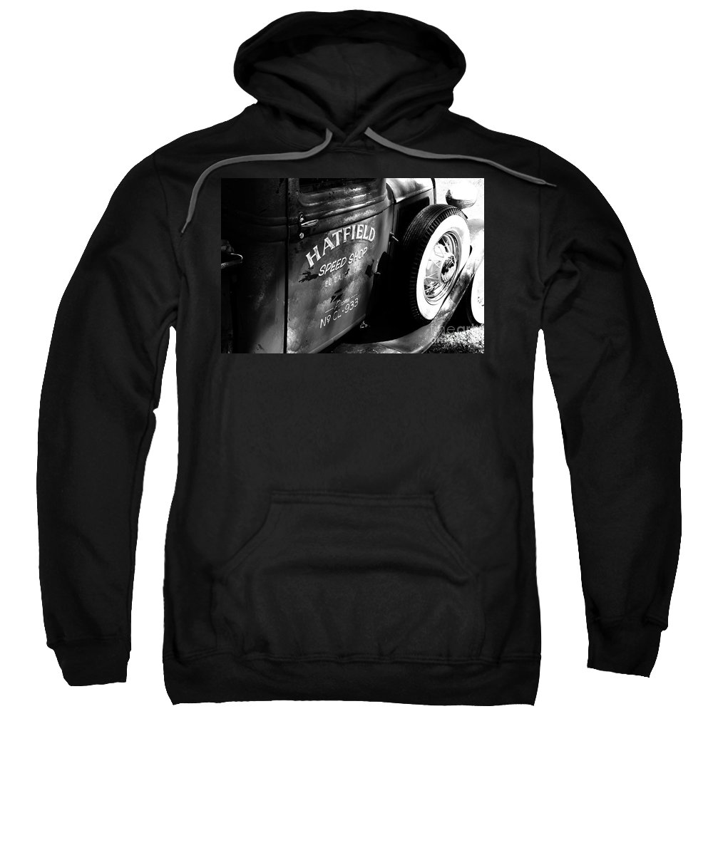 Port Washington Wisconsin Sweatshirt featuring the photograph Mr. Fender by Jamie Lynn