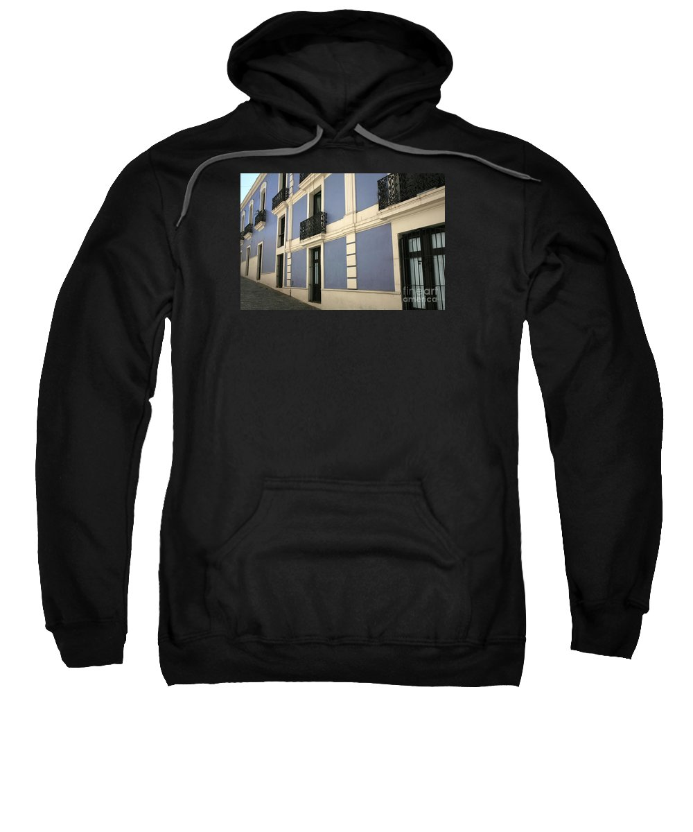 Old San Juan Sweatshirt featuring the photograph Old San Juan by Timothy Johnson