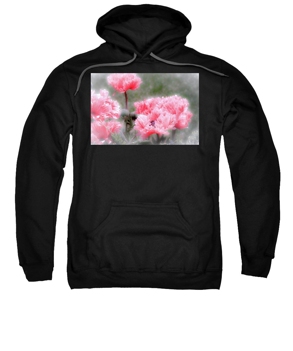 Poppies Sweatshirt featuring the photograph Poppies by Jill Smith